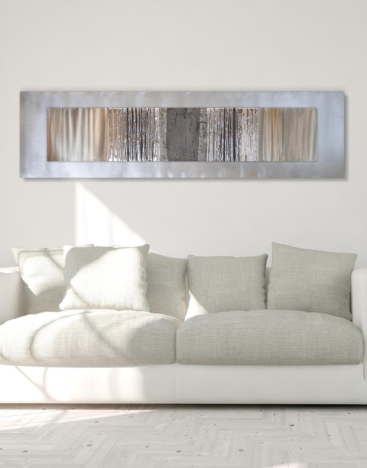 Graceful Silver Wall Art Metal Silver Wall Decor Together With Throughout Silver Wall Art (View 3 of 20)
