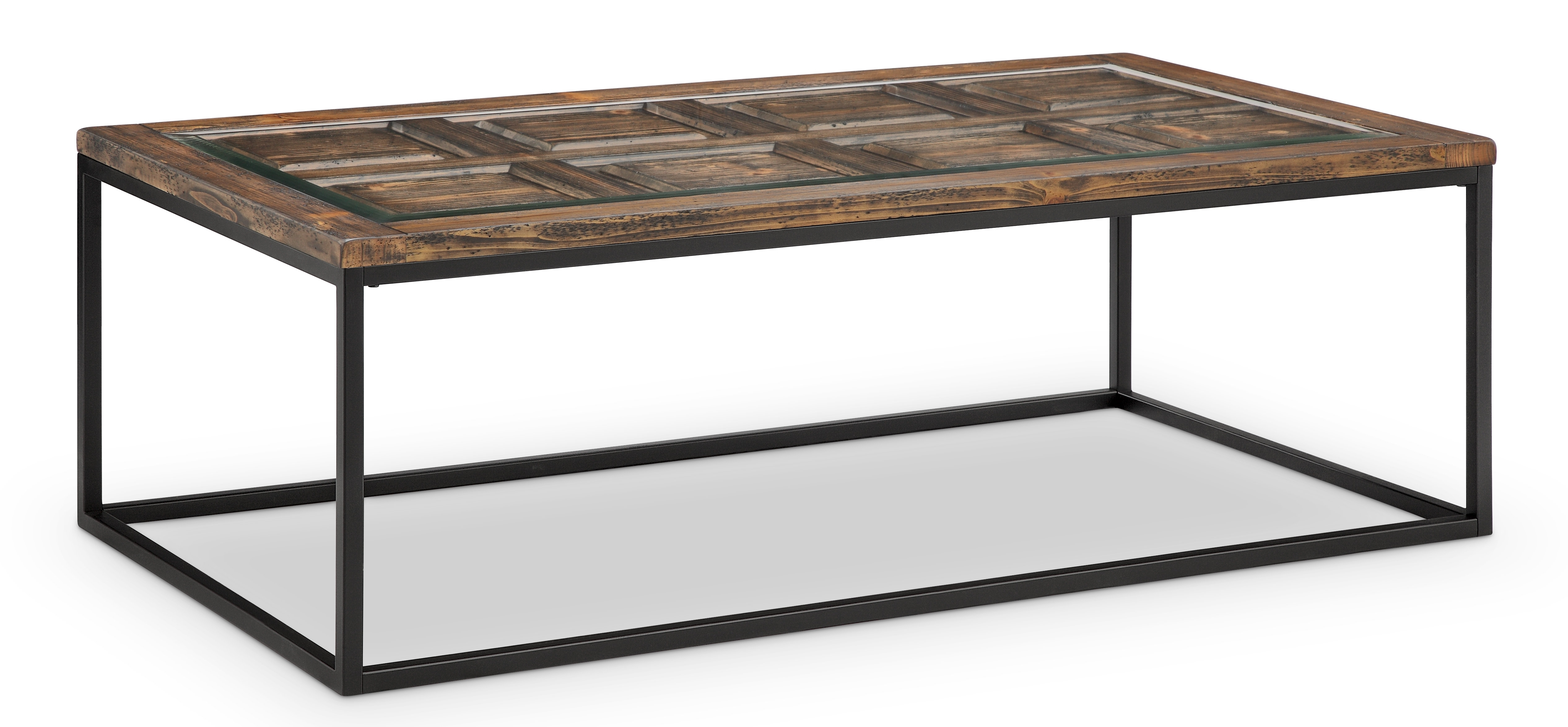 Gracie Oaks Ajit Rectangular Coffee Table & Reviews | Wayfair in Element Ivory Rectangular Coffee Tables (Image 10 of 30)