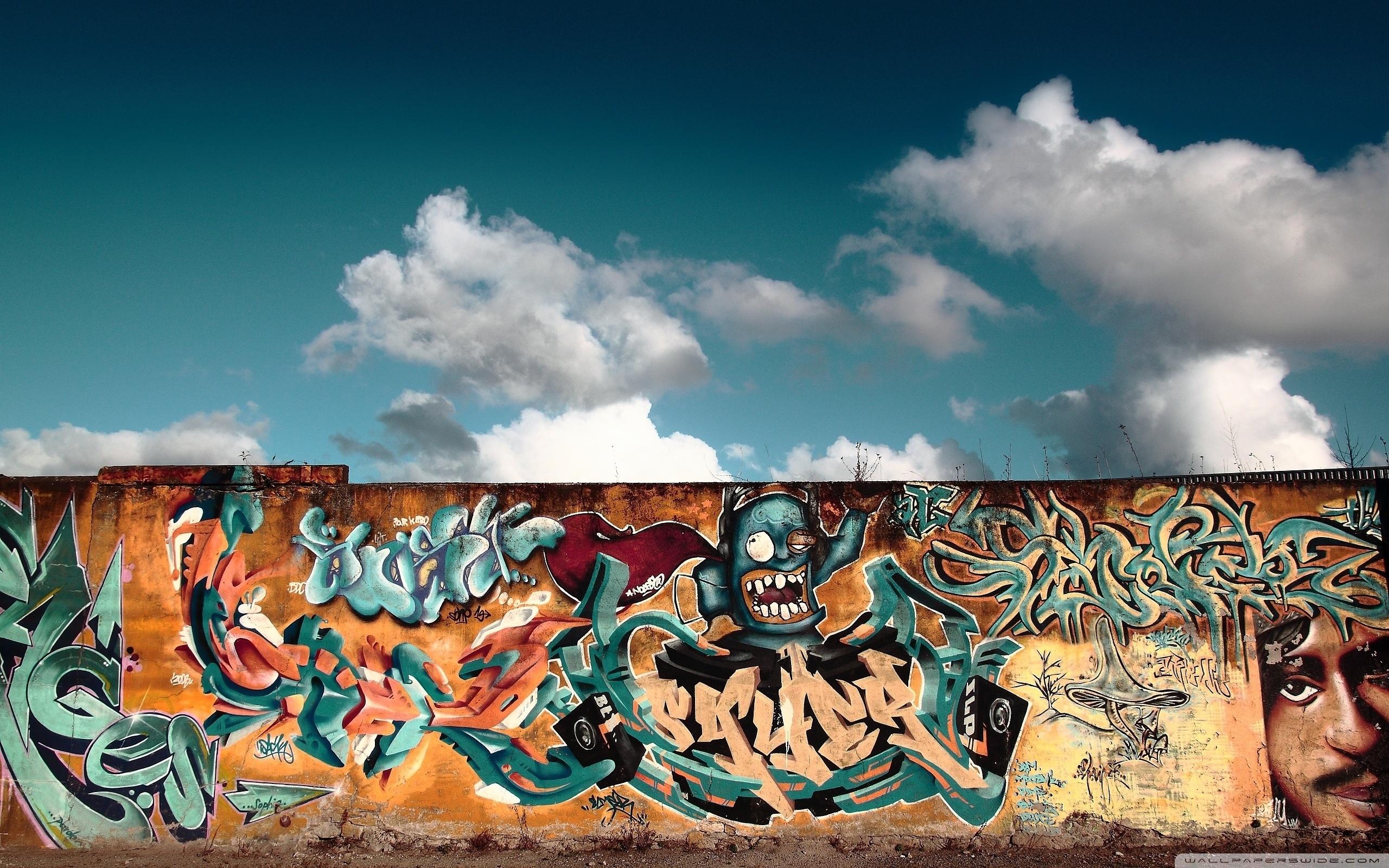Graffiti Wall Art ❤ 4K Hd Desktop Wallpaper For 4K Ultra Hd Tv Inside Graffiti Wall Art (View 7 of 20)