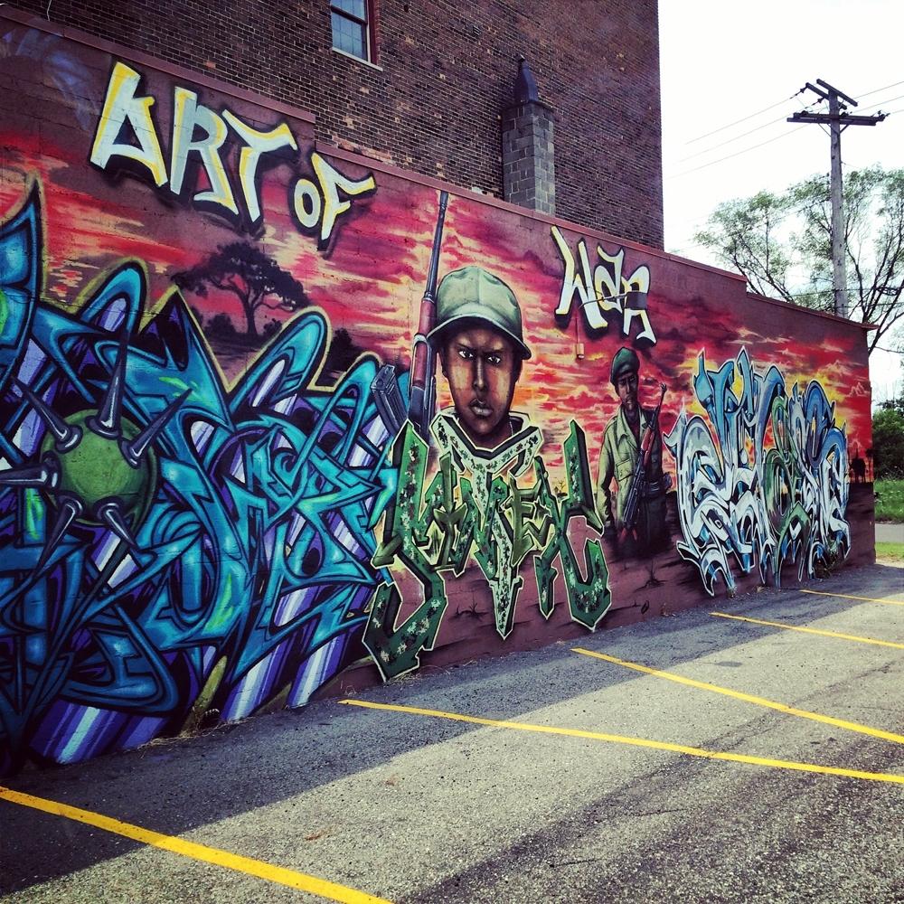 Graffiti Wall Art | The Belltowers Throughout Graffiti Wall Art (View 4 of 20)