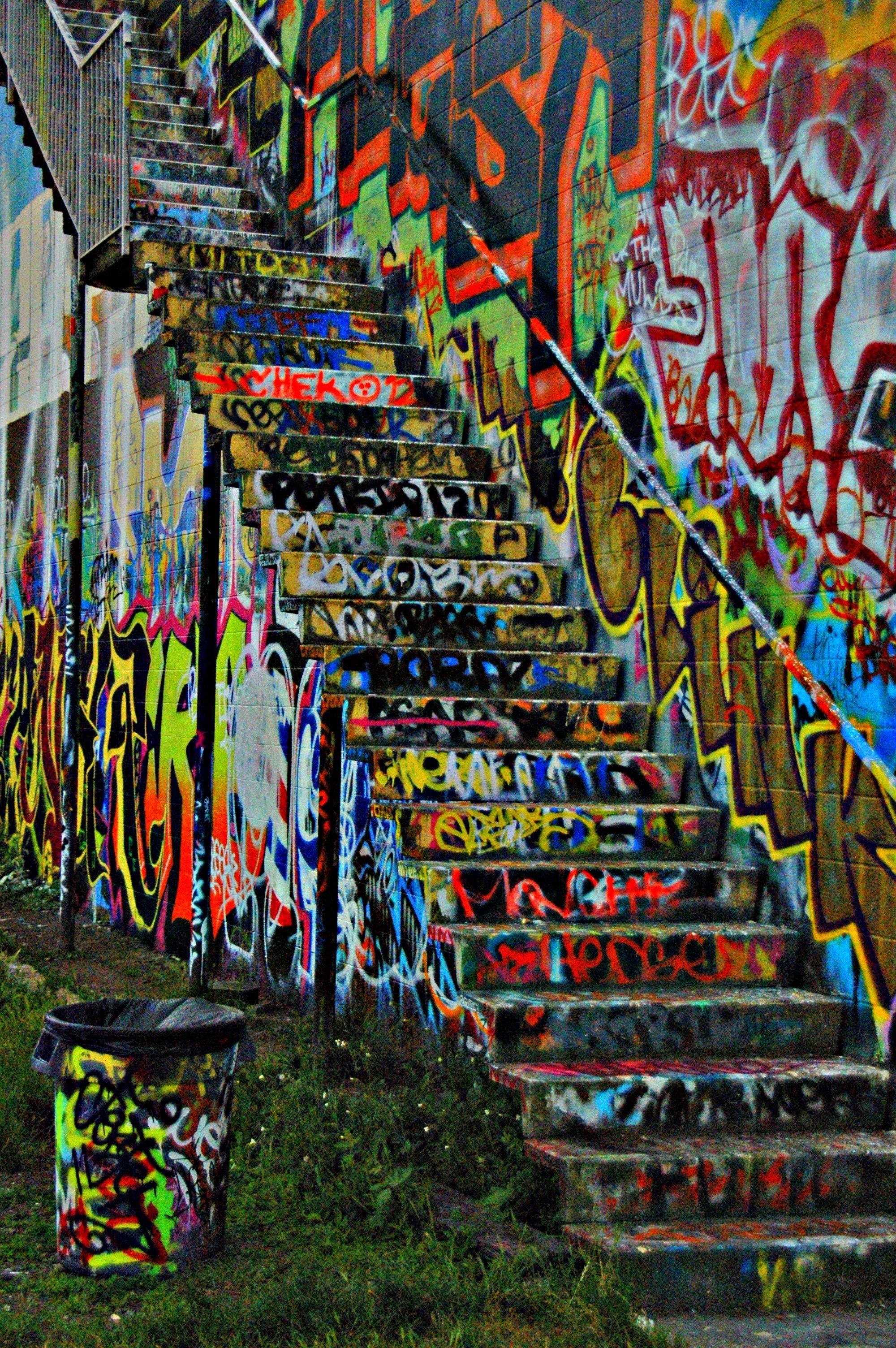 Graffiti Wall In Seattle!!:3 | My Pictures:) | Pinterest | Graffiti Inside Graffiti Wall Art (View 6 of 20)