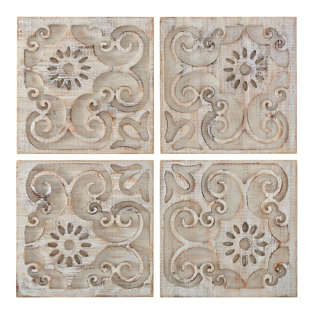 """Graham & Brown 26 In. X 26 In. """"moroccan Light Set Of 4 Laser Cut intended for Moroccan Wall Art (Image 3 of 20)"""