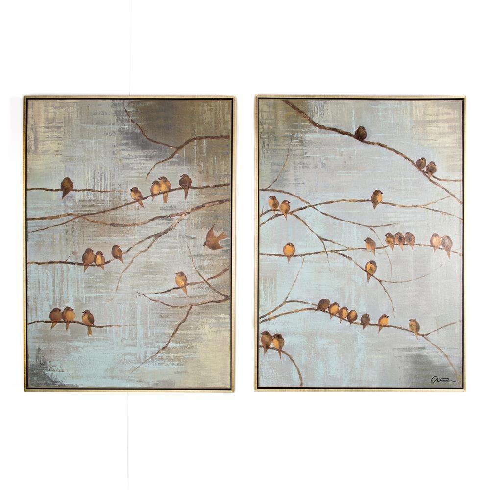 Featured Photo of Bird Framed Canvas Wall Art