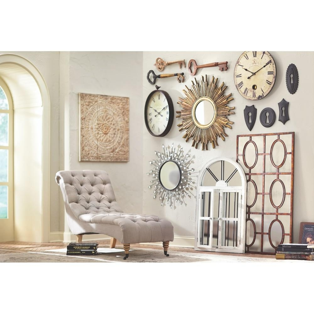 Great Galvanized Metal Wall Art Decor Plate Design Idea Shabby White Intended For Metal Wall Art Decors (View 18 of 20)