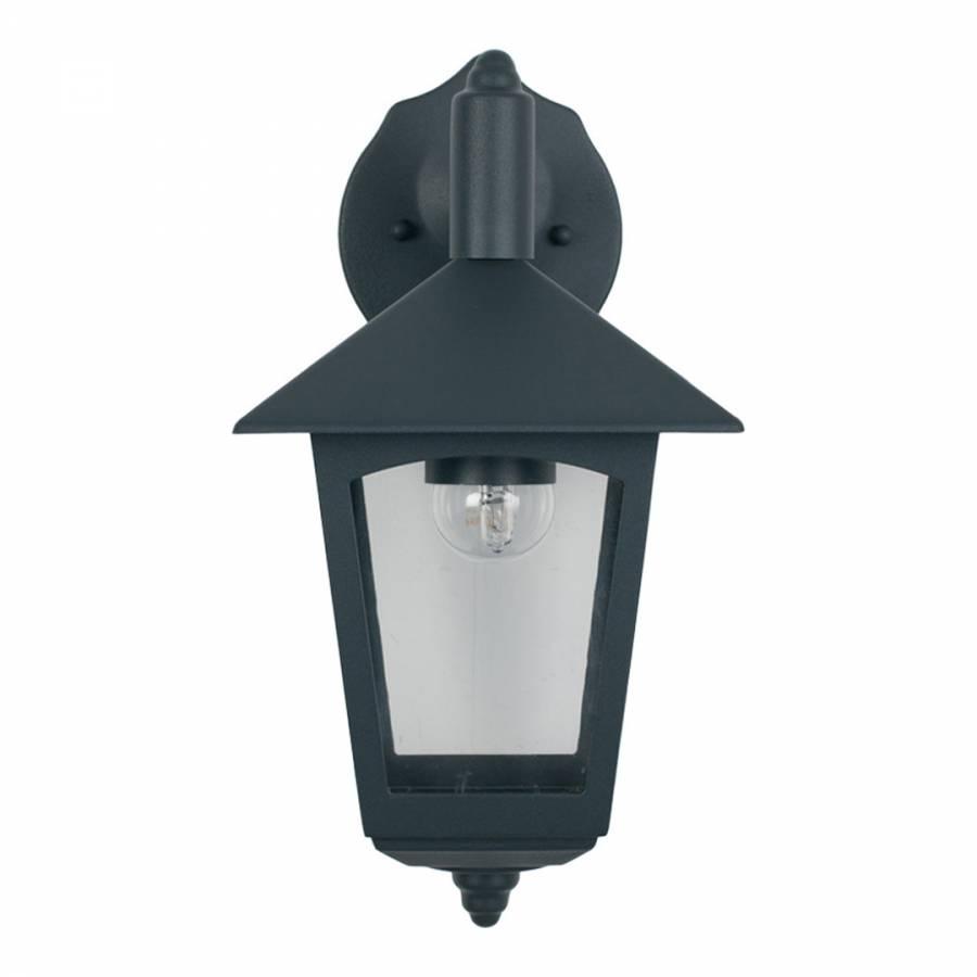 Grey Hanging Lantern Outdoor Wall Light - Brandalley pertaining to Outdoor Grey Lanterns (Image 5 of 20)