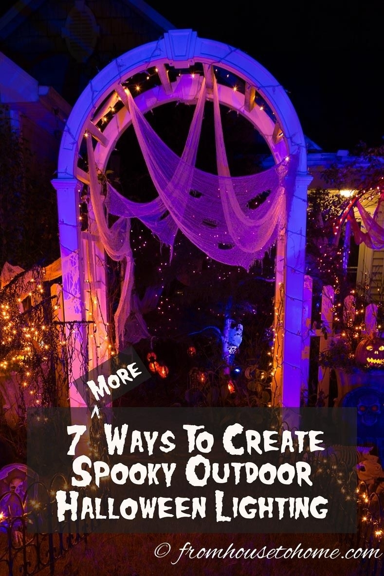 Halloween Outdoor Lighting: 7 Spooky Ways To Light Your Yard intended for Outdoor Halloween Lanterns (Image 13 of 20)