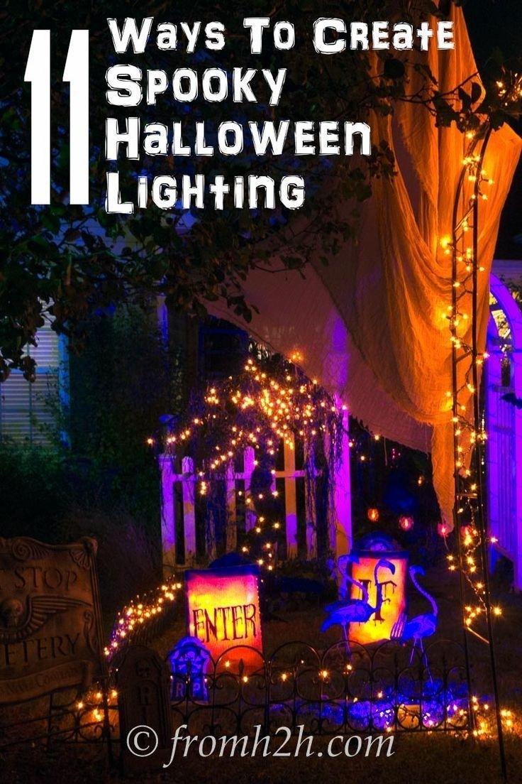 Halloween Outdoor Lights Elegant 66 Best Halloween Lighting Images With Outdoor Halloween Lanterns (View 14 of 20)