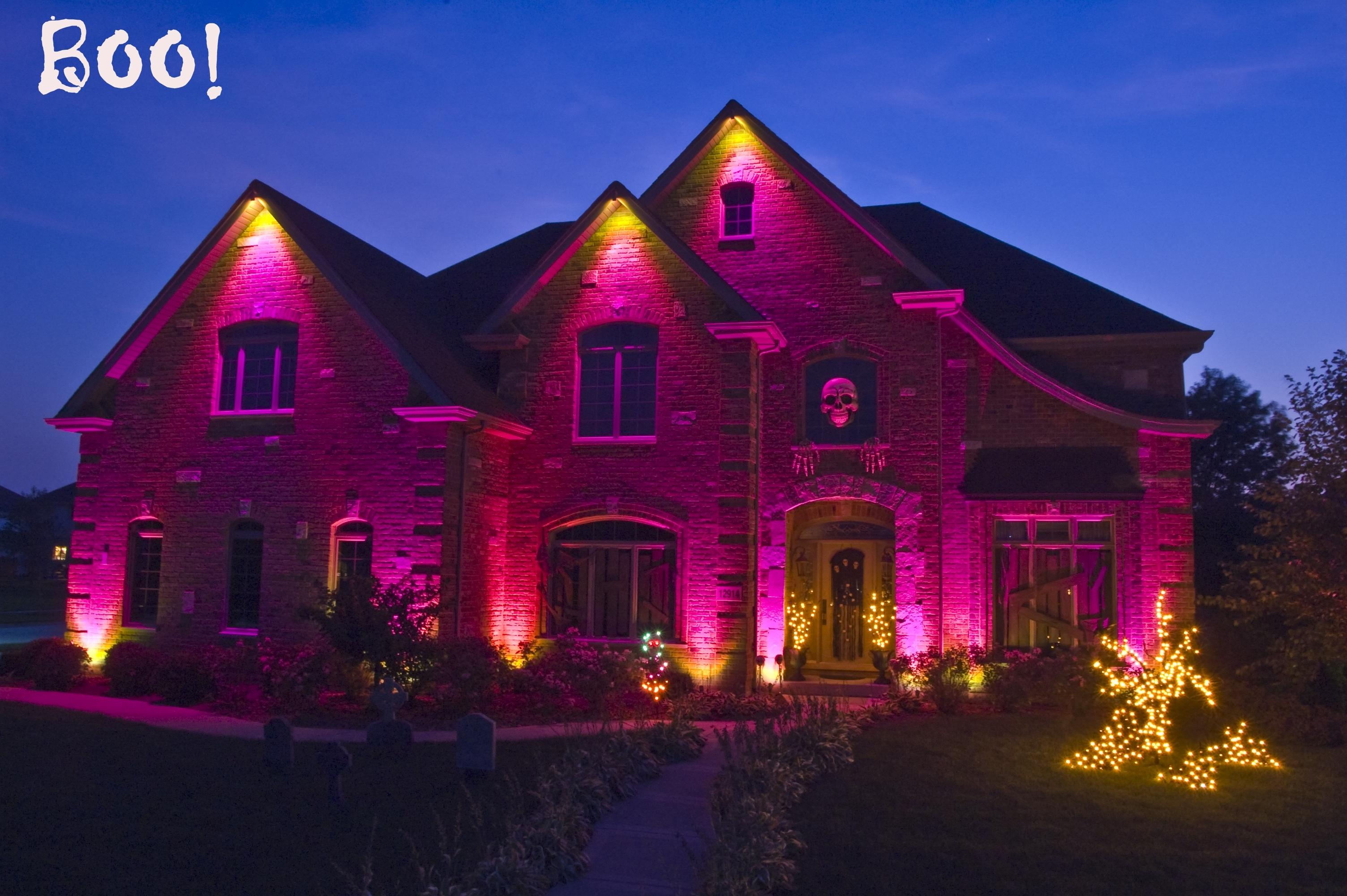Halloween Yard Lighting – Democraciaejustica Throughout Outdoor Halloween Lanterns (View 15 of 20)