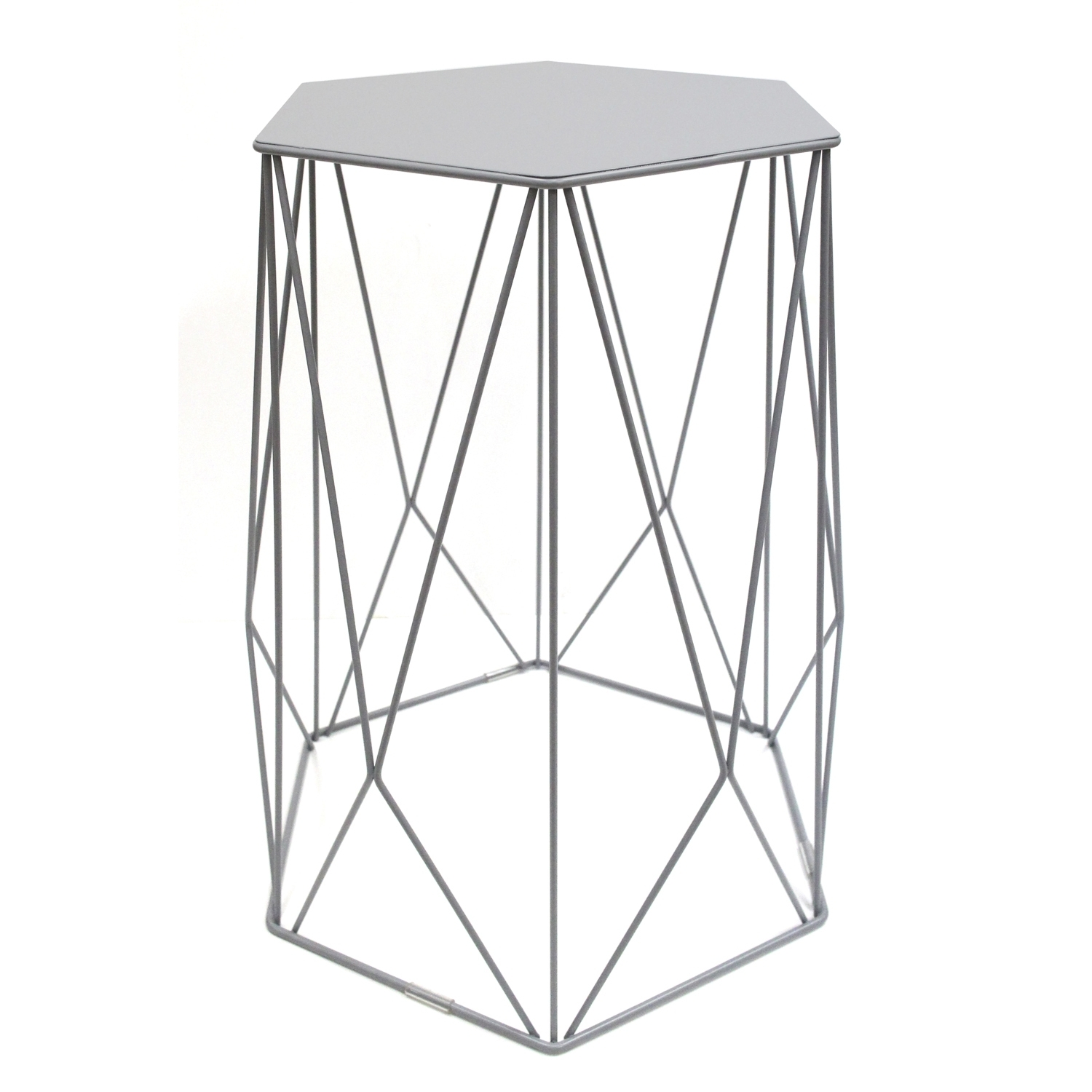Halo Wire Side Table for Black Wire Coffee Tables (Image 10 of 30)