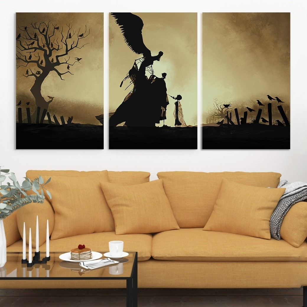 Harry Potter Inspired Multi Panel Canvas Wall Art - Album On Imgur inside Multi Panel Wall Art (Image 11 of 20)