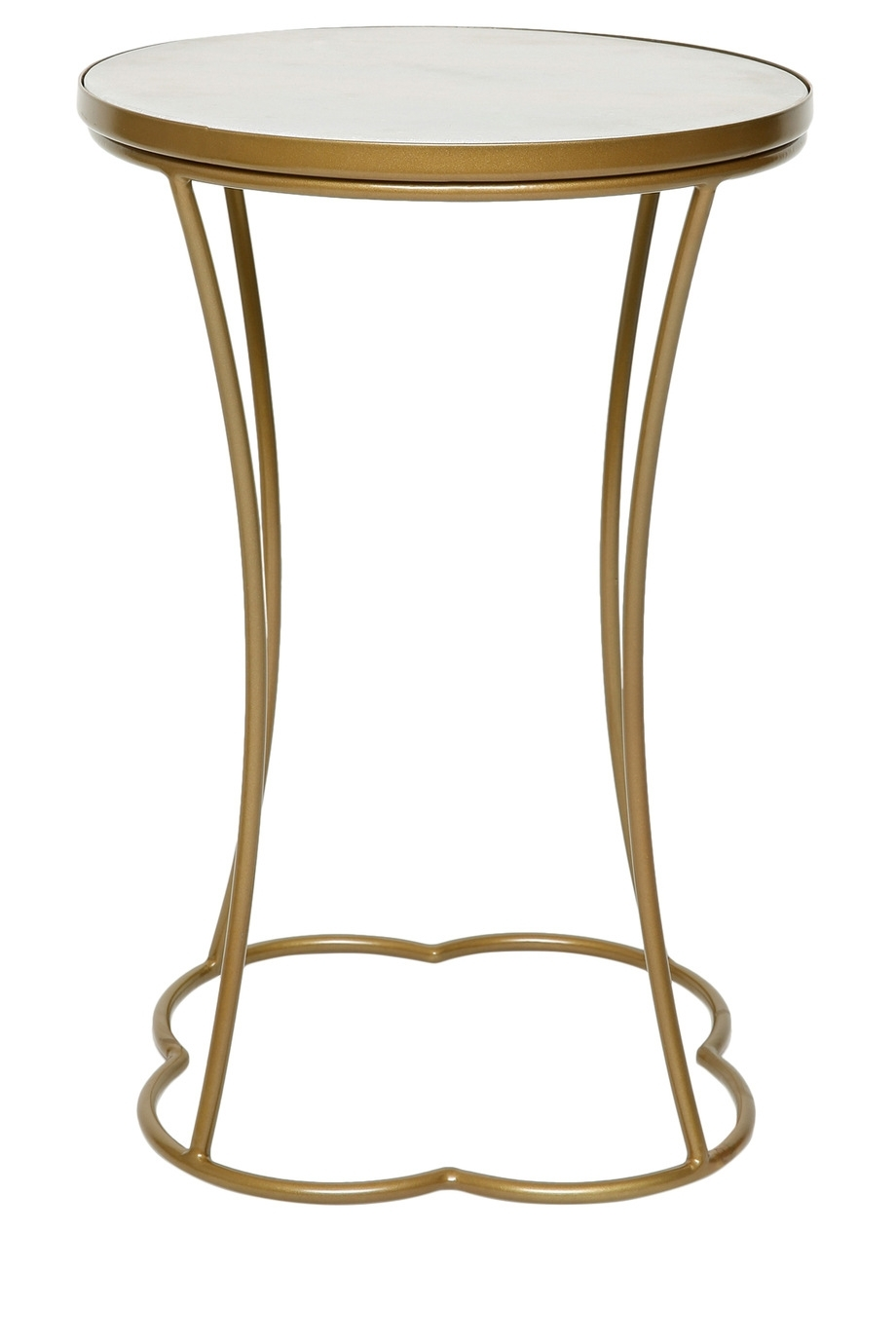 Heritage | Marrakech Round Side Table In Pale Gold Finish | Myer Online within Marrakesh Side Tables (Image 2 of 30)