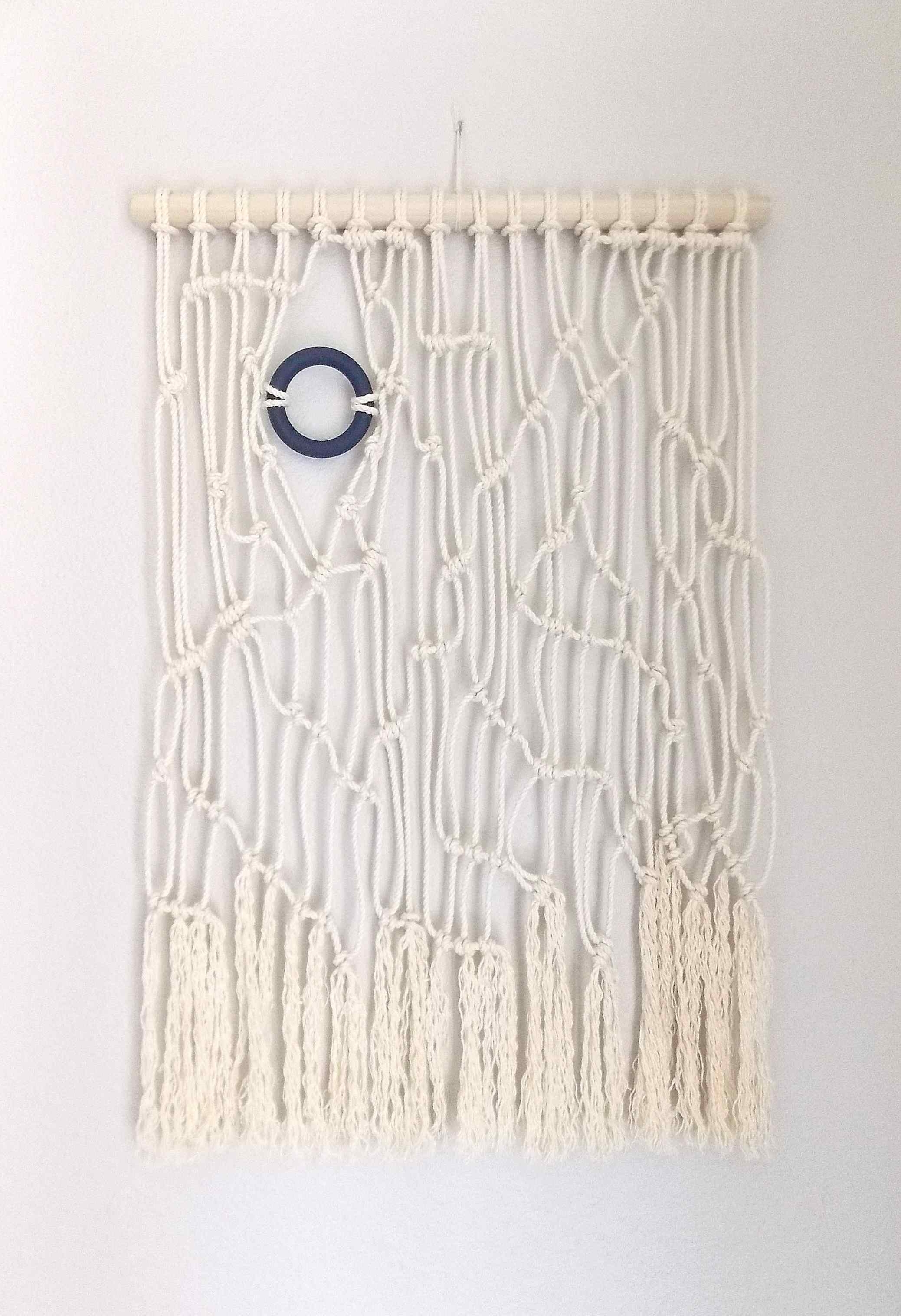 Himo Art For Urban Outfitters, Modern Macrame Wall Hanging, Rope pertaining to Urban Outfitters Wall Art (Image 10 of 20)