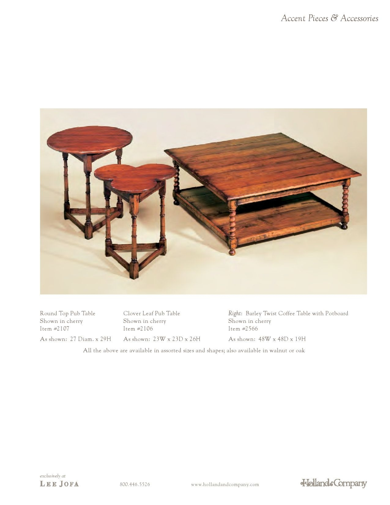 Holland & Company - Coffee Tables - Barley Twist Coffee Table with Barley Twist Coffee Tables (Image 17 of 30)