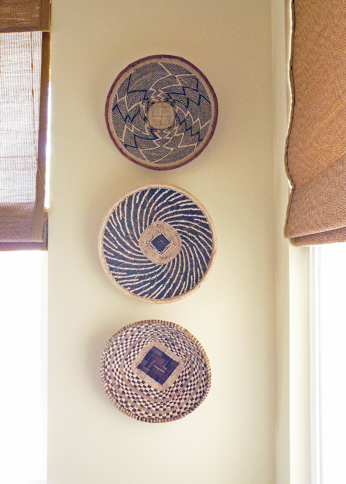 Home African Basket Elegant Wall Decor Baskets - Wall Decoration And pertaining to African Wall Art (Image 13 of 20)