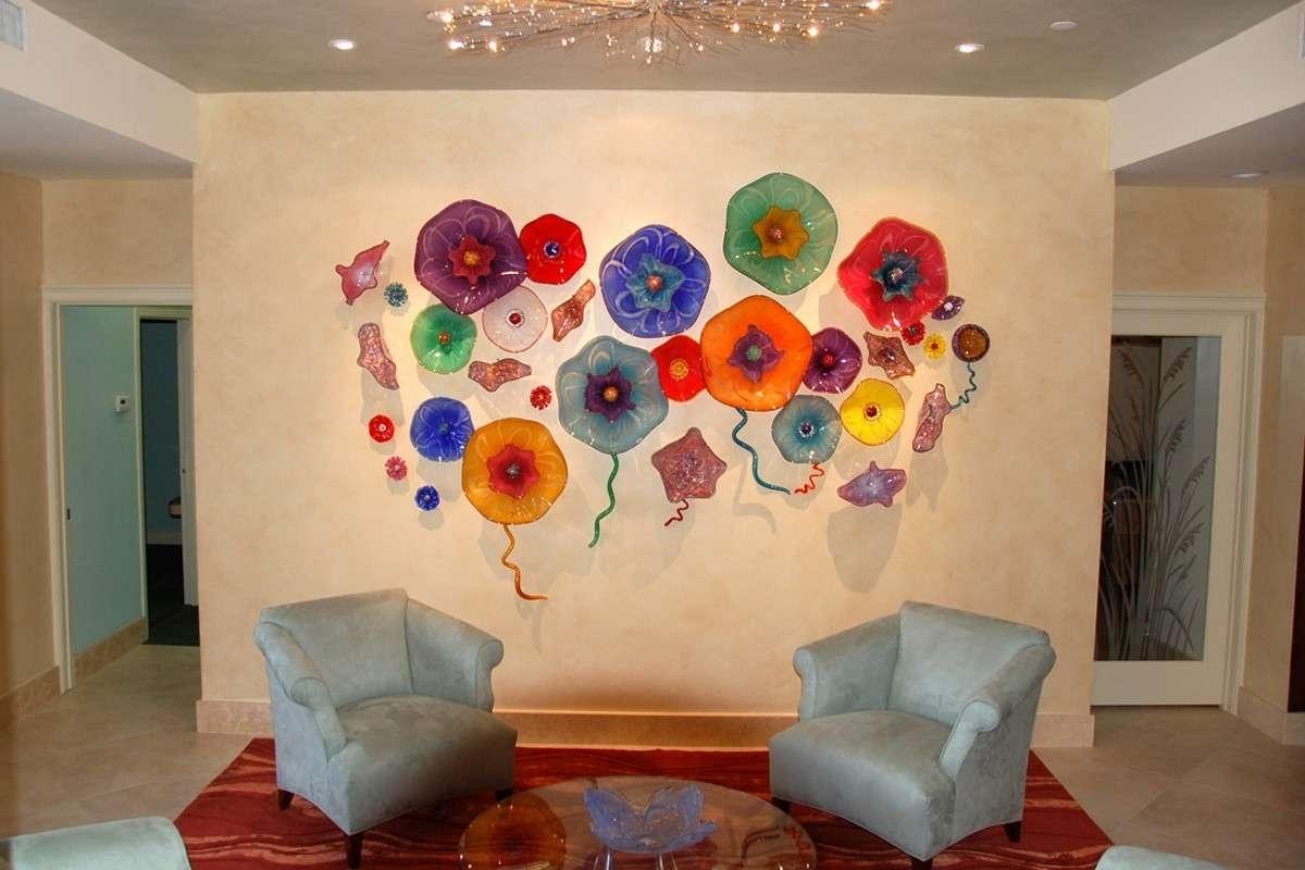 Home Creative Wonderful Wall Decor For Sale Beautiful Wall Art Ideas inside Glass Wall Art (Image 12 of 20)