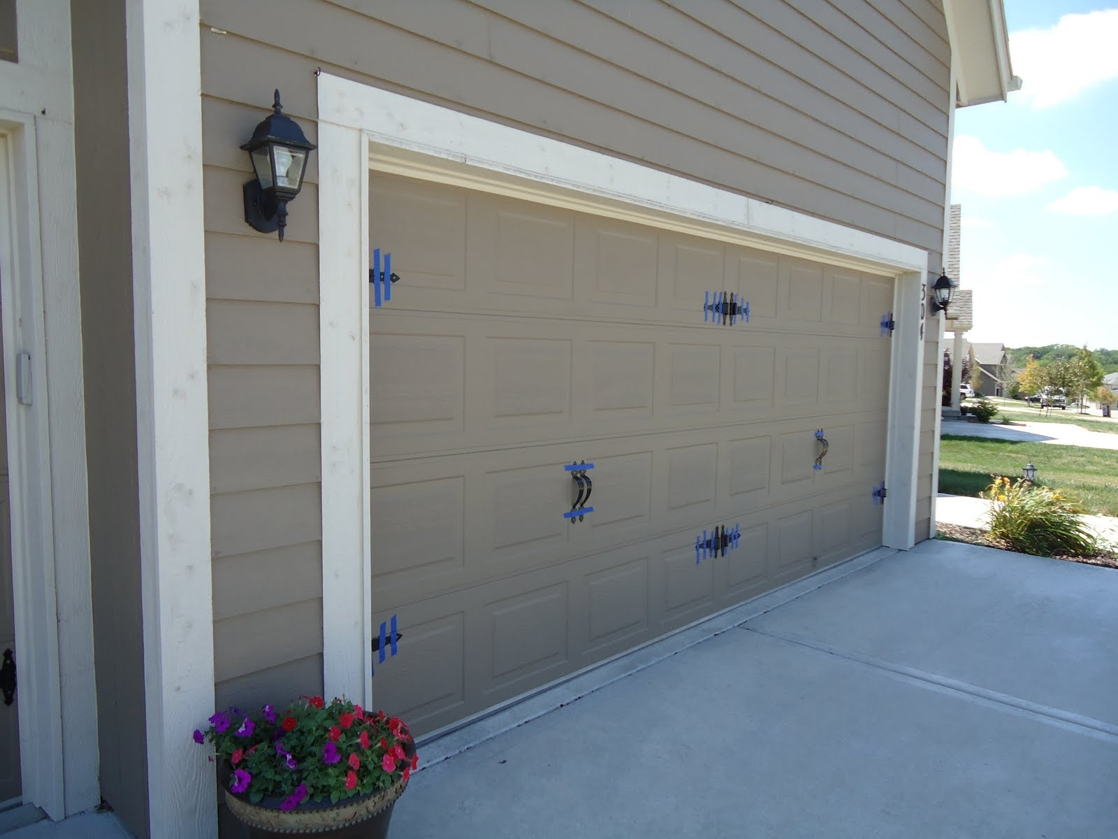 Home Lighting : Construct H Hir C R R G Door Divine Led Parking In Outdoor Garage Lanterns (View 18 of 20)