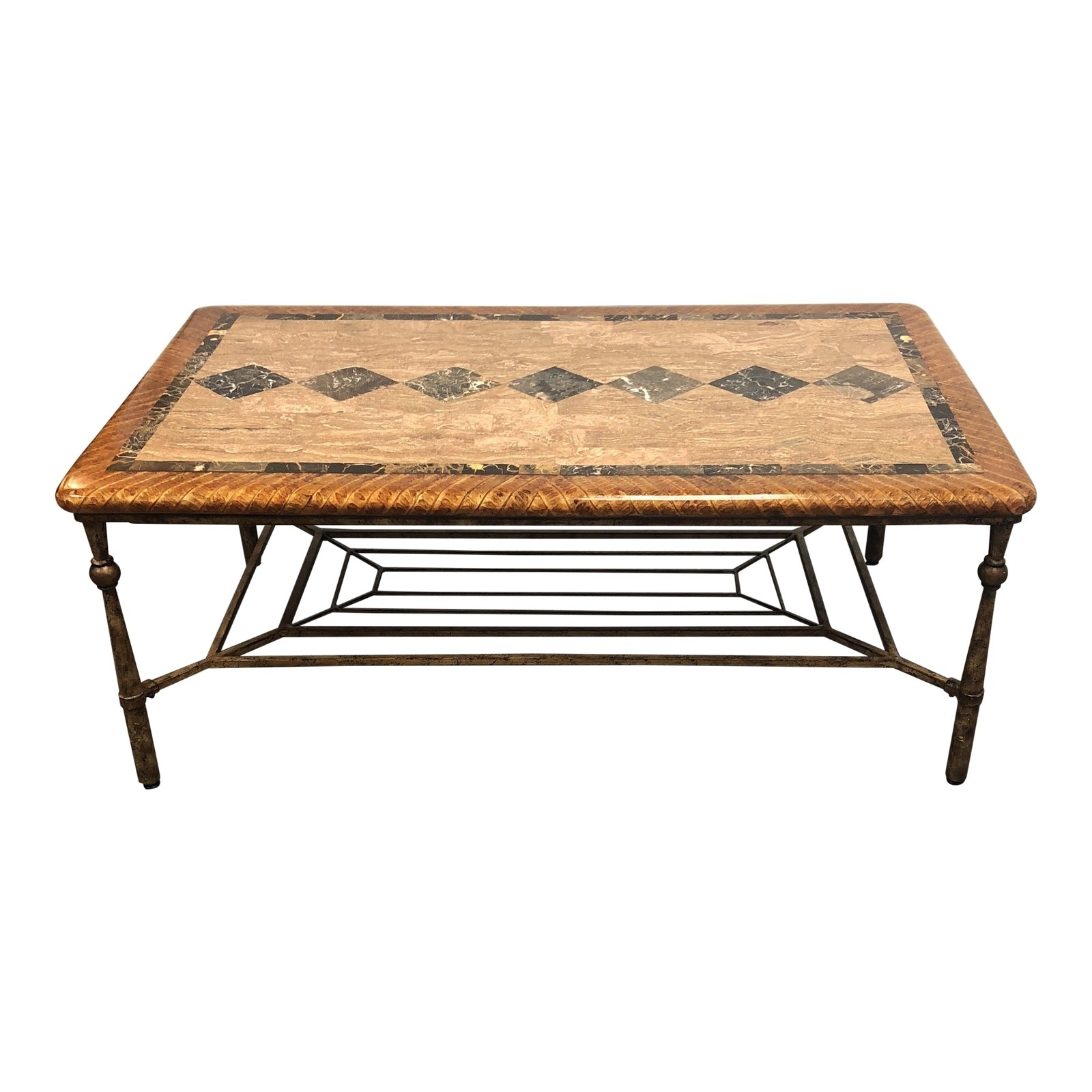 Hooker Furniture Stone Top Coffee Table – Design Plus Gallery Within Stone Top Coffee Tables (View 15 of 30)