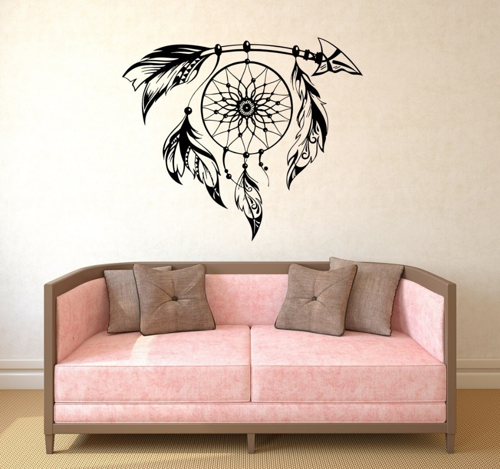 Hot Selling Special Wall Stickers Dream Catcher Art Designed Cool With Cool Wall Art (View 13 of 20)