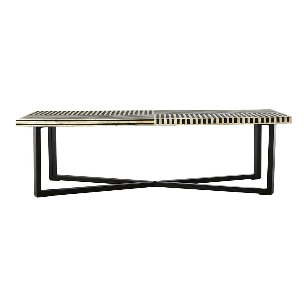 Houseology Collection Marrakesh Bone Inlay Coffee Table | Houseology for Marrakesh Side Tables (Image 3 of 30)