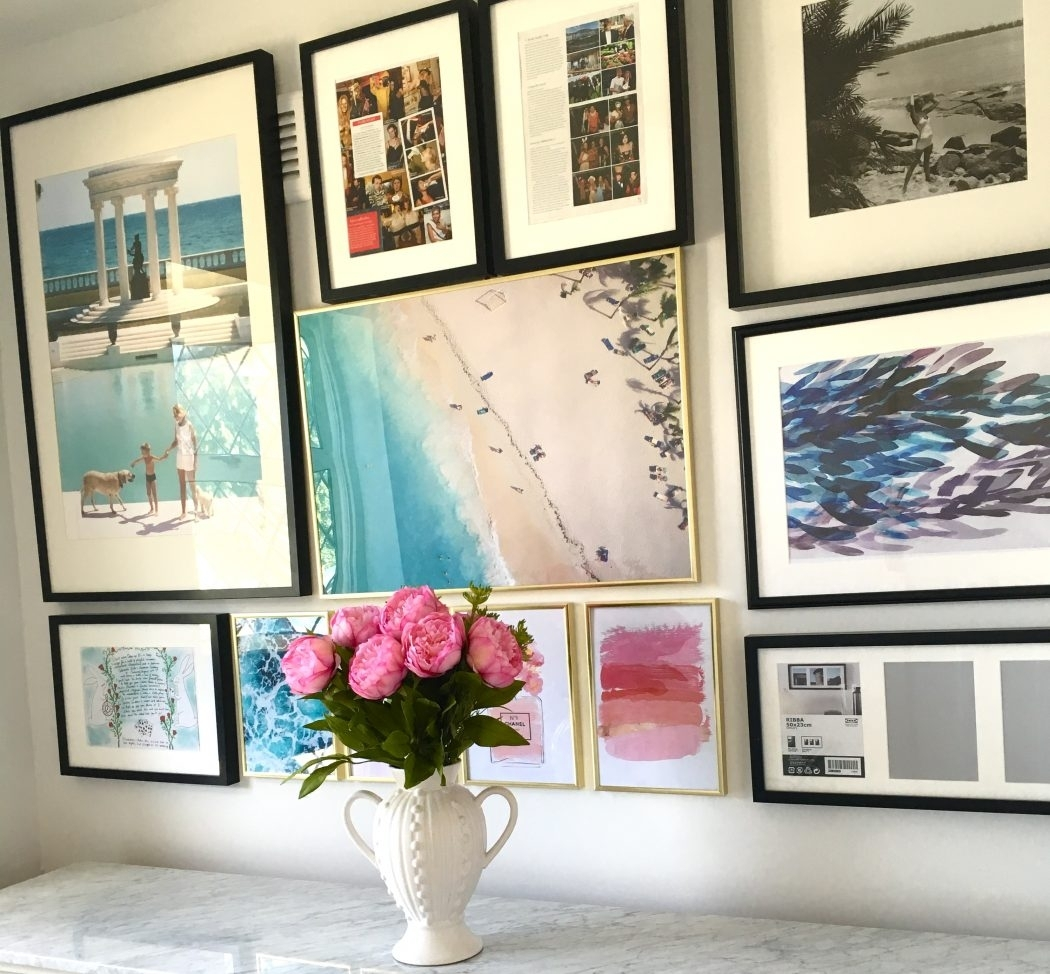 How To Create A Gallery Wall (And Where To Find Affordable Art with Affordable Wall Art (Image 16 of 20)