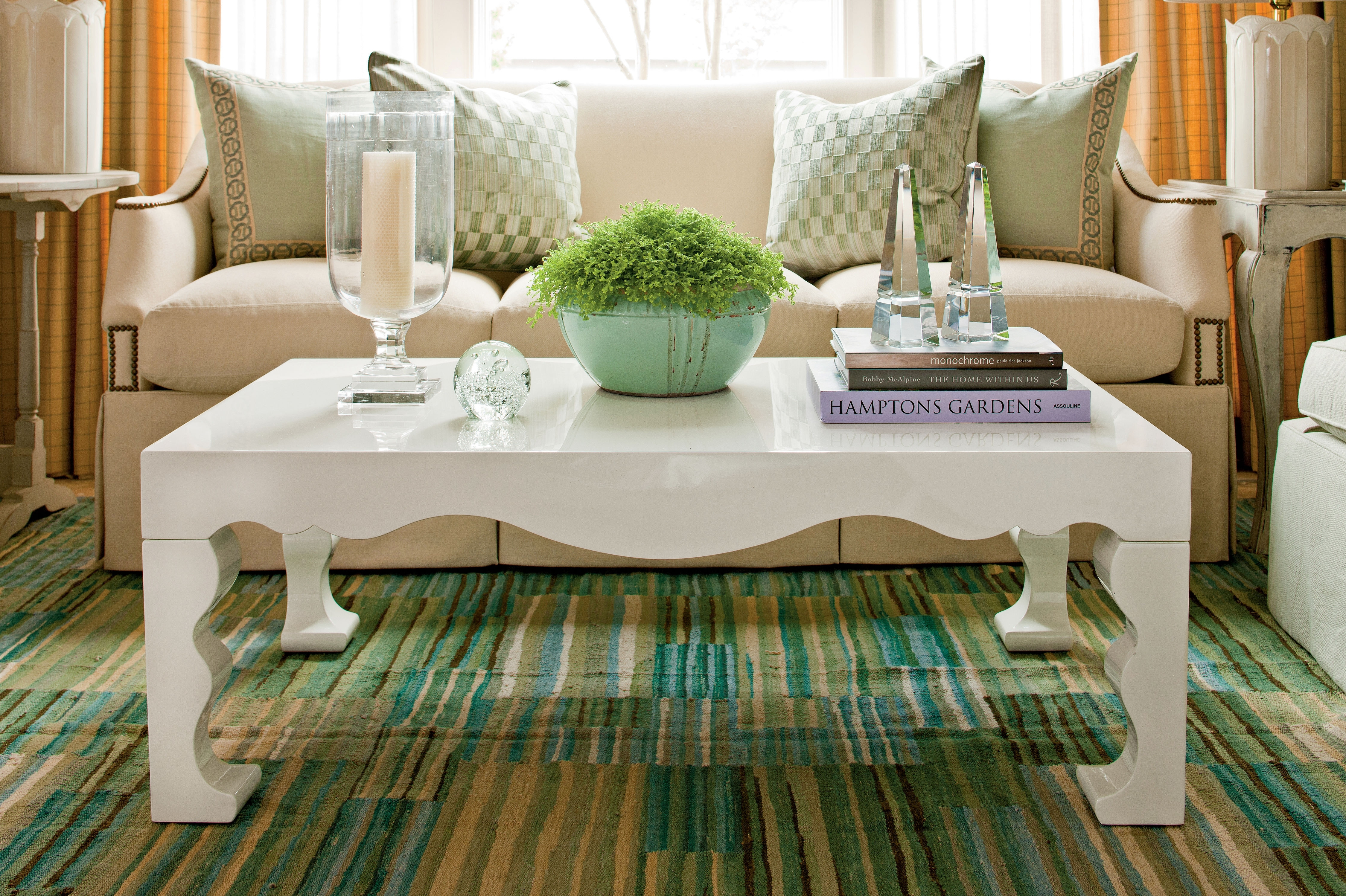 How To Decorate A Coffee Table - Southern Living in Fresh Cut Side Tables (Image 13 of 30)