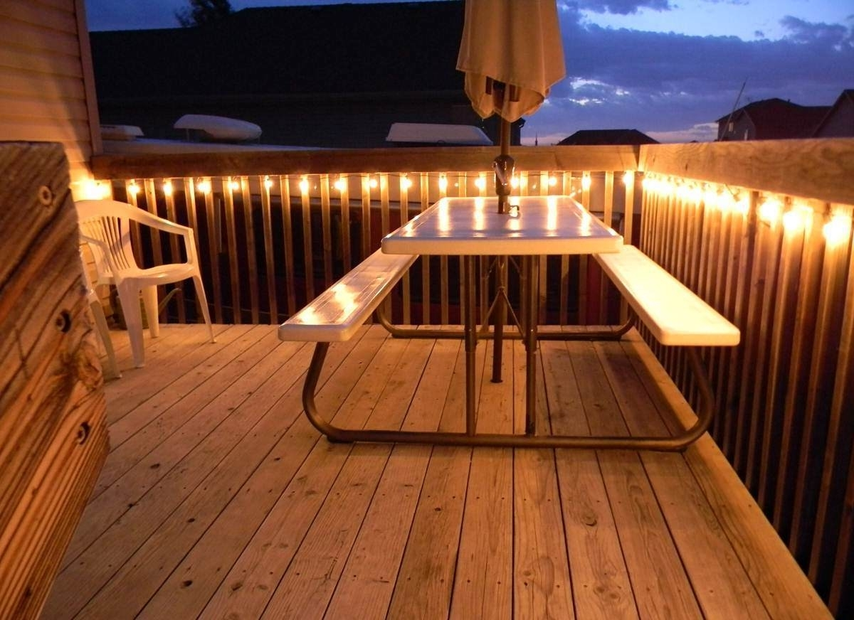 How To Hang Outdoor Lights On Deck – Outdoor Lighting Ideas Intended For Outdoor Lanterns For Deck (View 4 of 20)