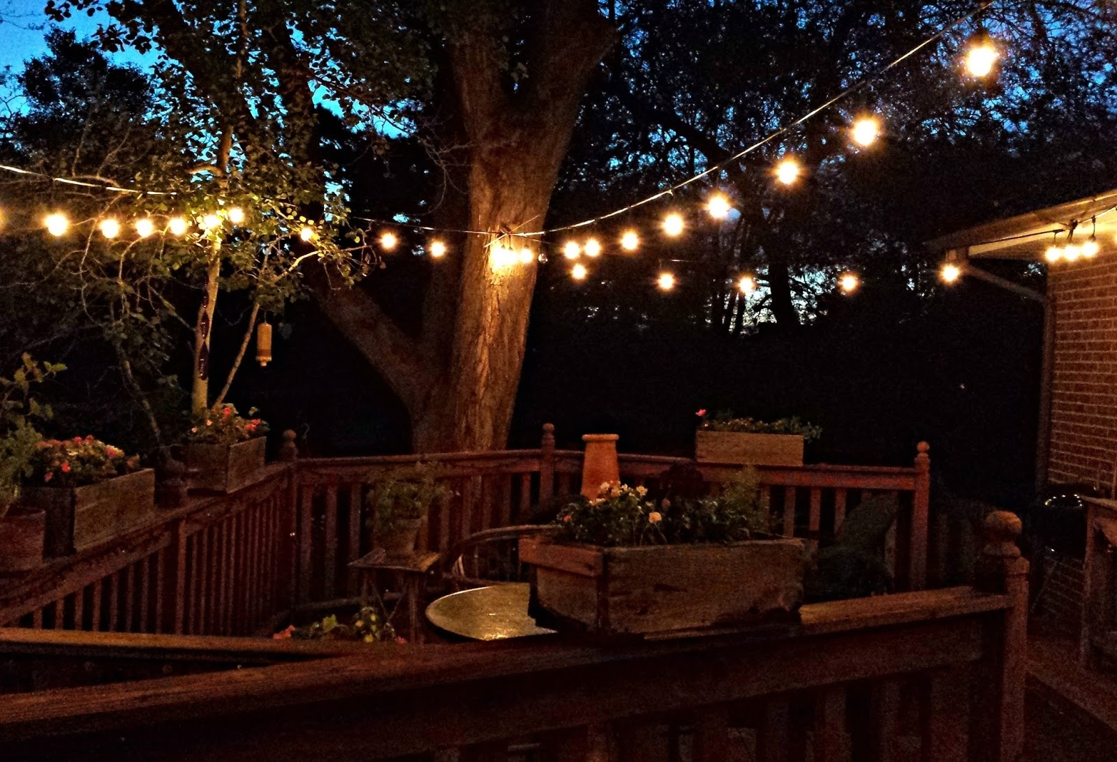 How To Hang Outdoor Lights On Deck - Outdoor Lighting Ideas pertaining to Outdoor Lanterns for Deck (Image 9 of 20)