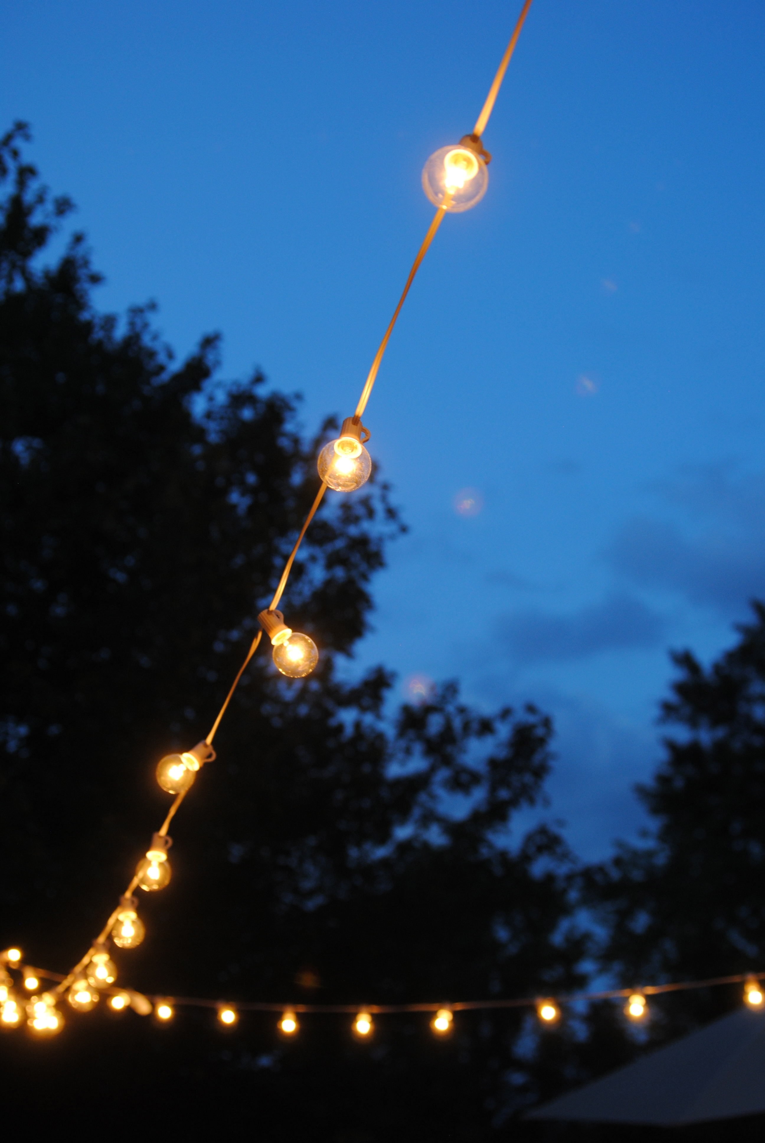 How To Hang Outdoor String Lights (The Deck Diaries, Part 3 inside Outdoor Lanterns for Deck (Image 10 of 20)