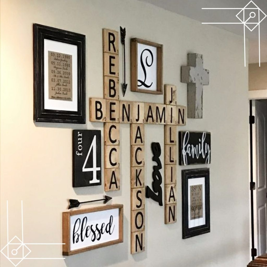 How To Hang Scrabble Tiles On Wall (View 7 of 20)
