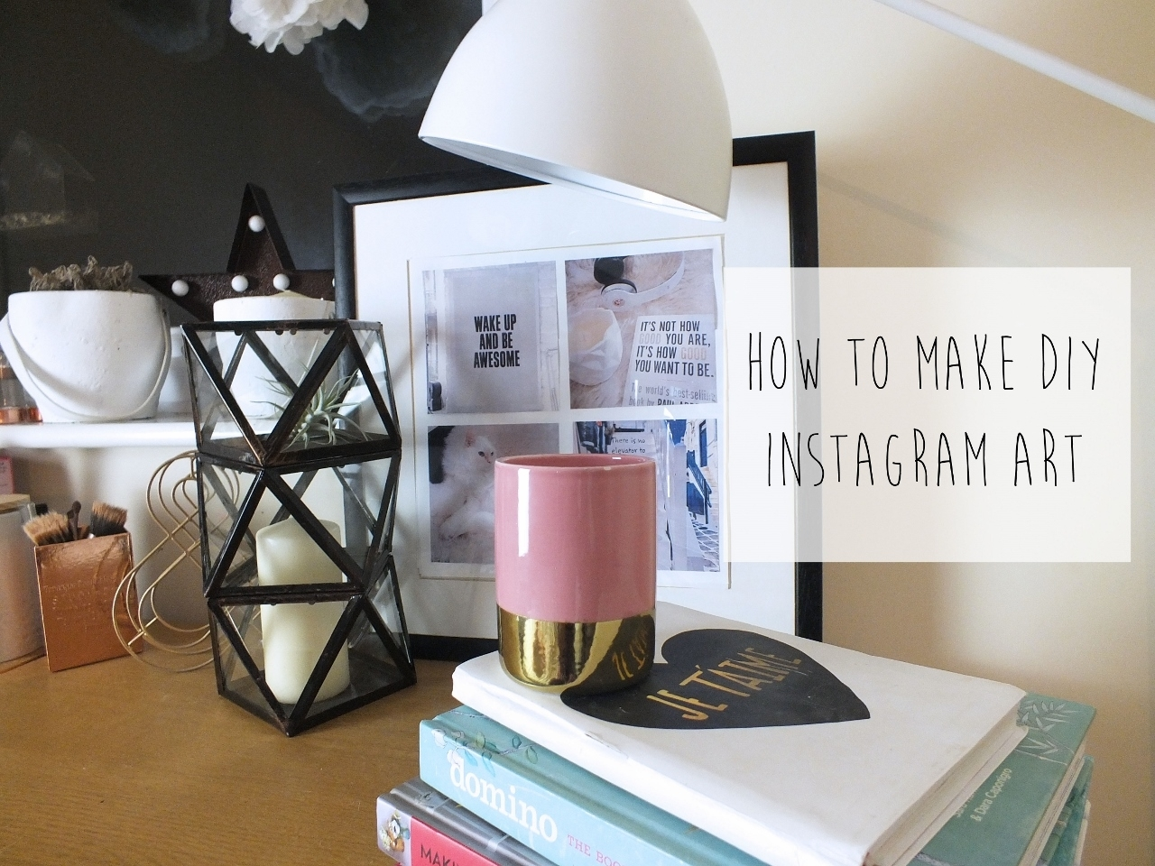 How To Make Diy Instagram Wall Art - Don't Cramp My Style with Instagram Wall Art (Image 10 of 20)