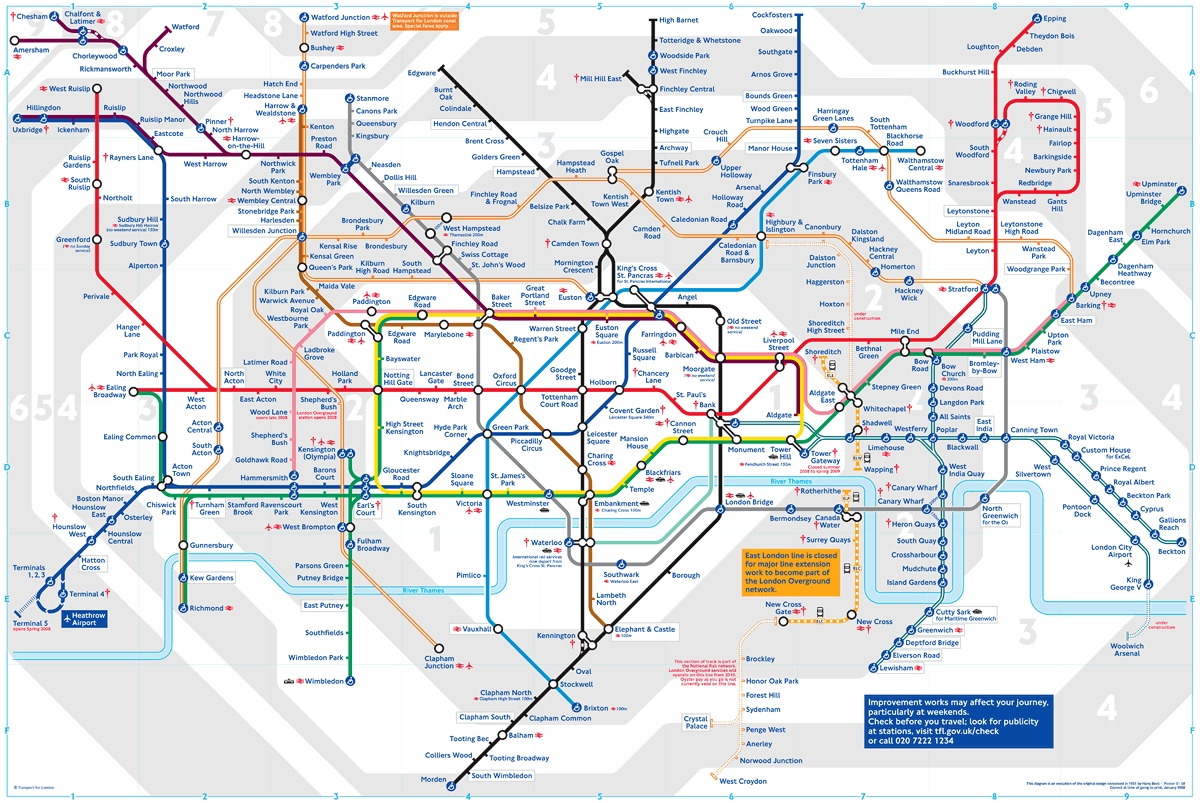 How To Ruin A Design Classic ~ The New London Underground Tube Map Within Tube Map Wall Art (View 18 of 20)