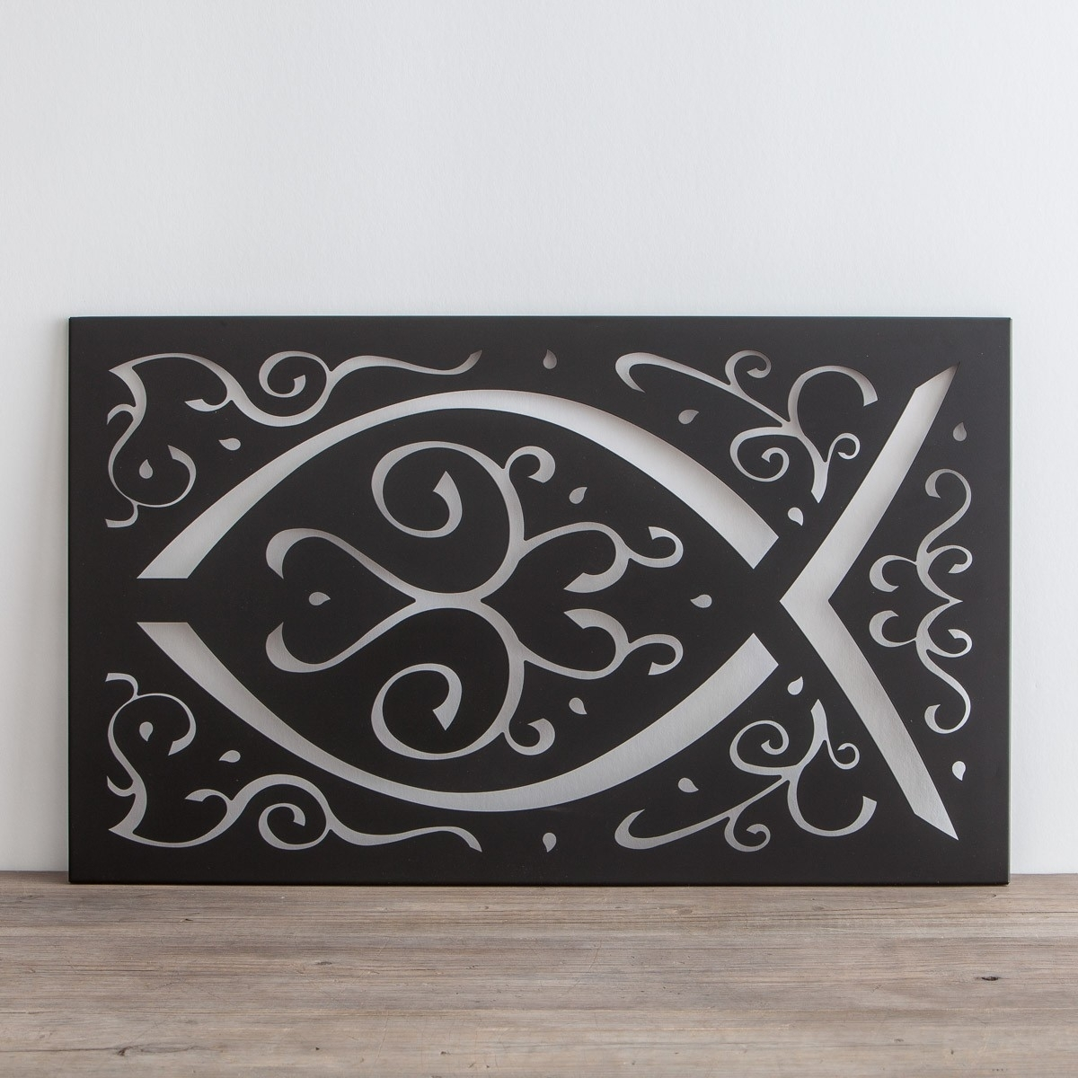 Ichthys - Metal Wall Art | Dayspring with regard to Metal Wall Art (Image 10 of 20)
