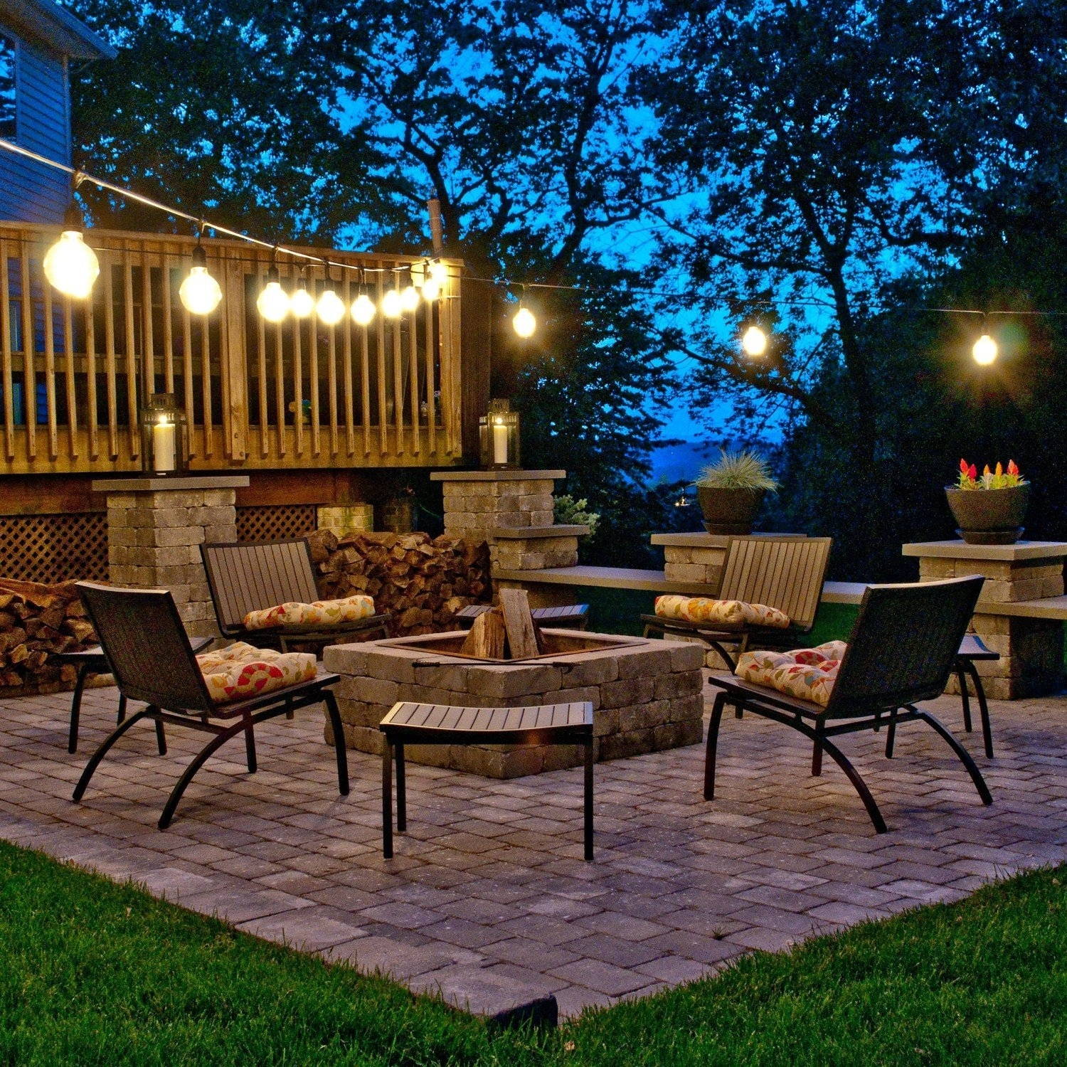 Ideas To Decorate Patio String Lights — Awesome House Lighting Within Outdoor Lawn Lanterns (View 9 of 20)