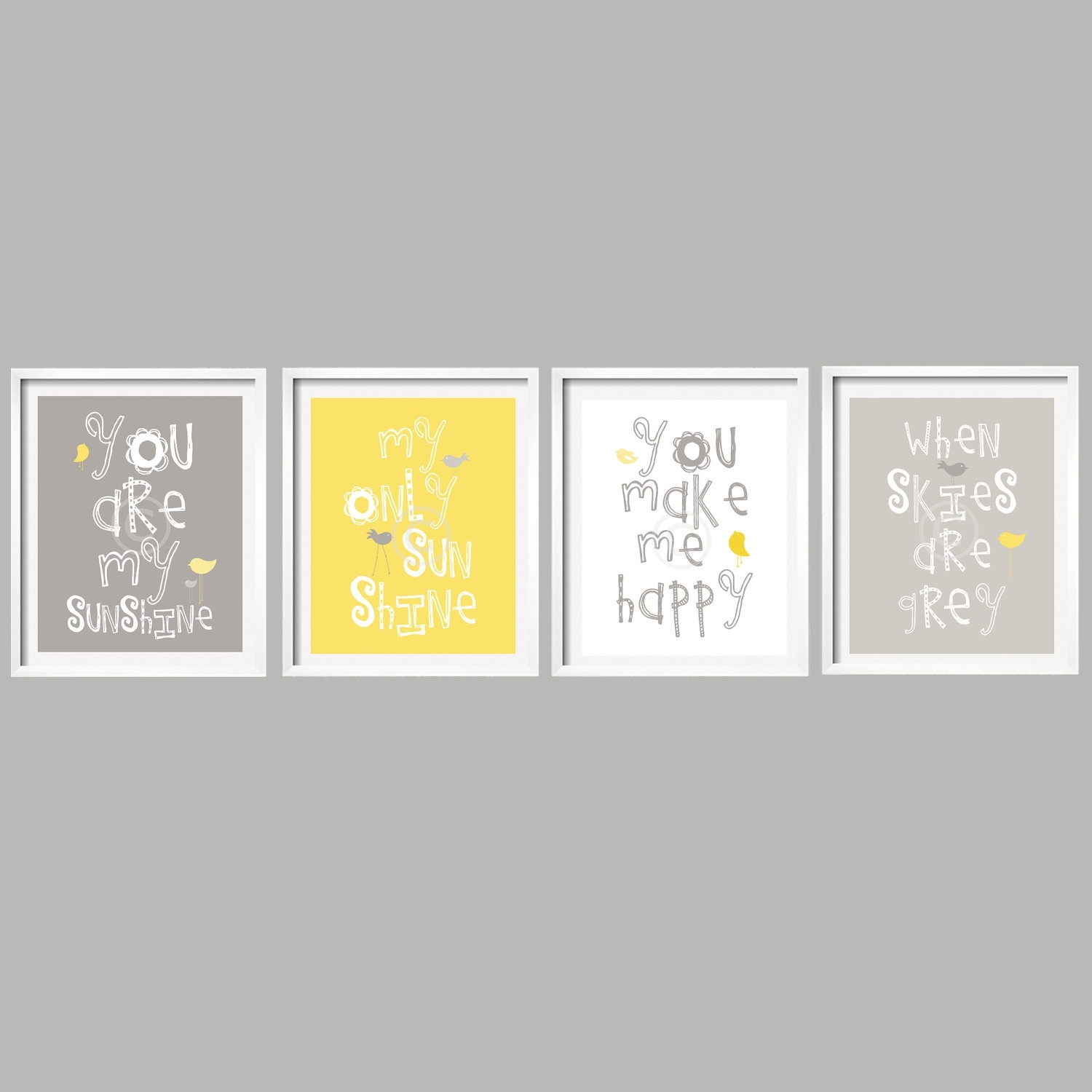 Il Fullxfull Mmnk Perfect Wall Art Yellow And Gray - Home Design And throughout Yellow And Gray Wall Art (Image 10 of 20)