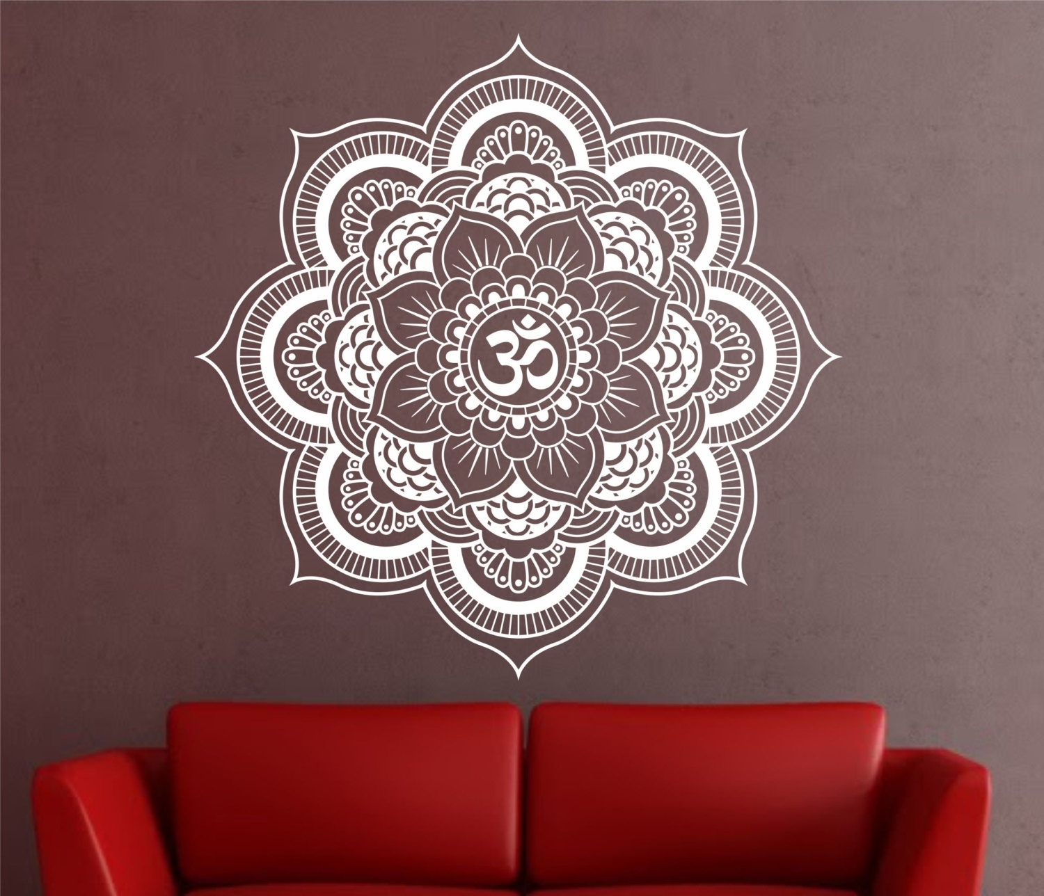 Il Fullxfull Msfb Photo Pic Mandala Wall Decal – Best Home Design In Mandala Wall Art (View 10 of 20)