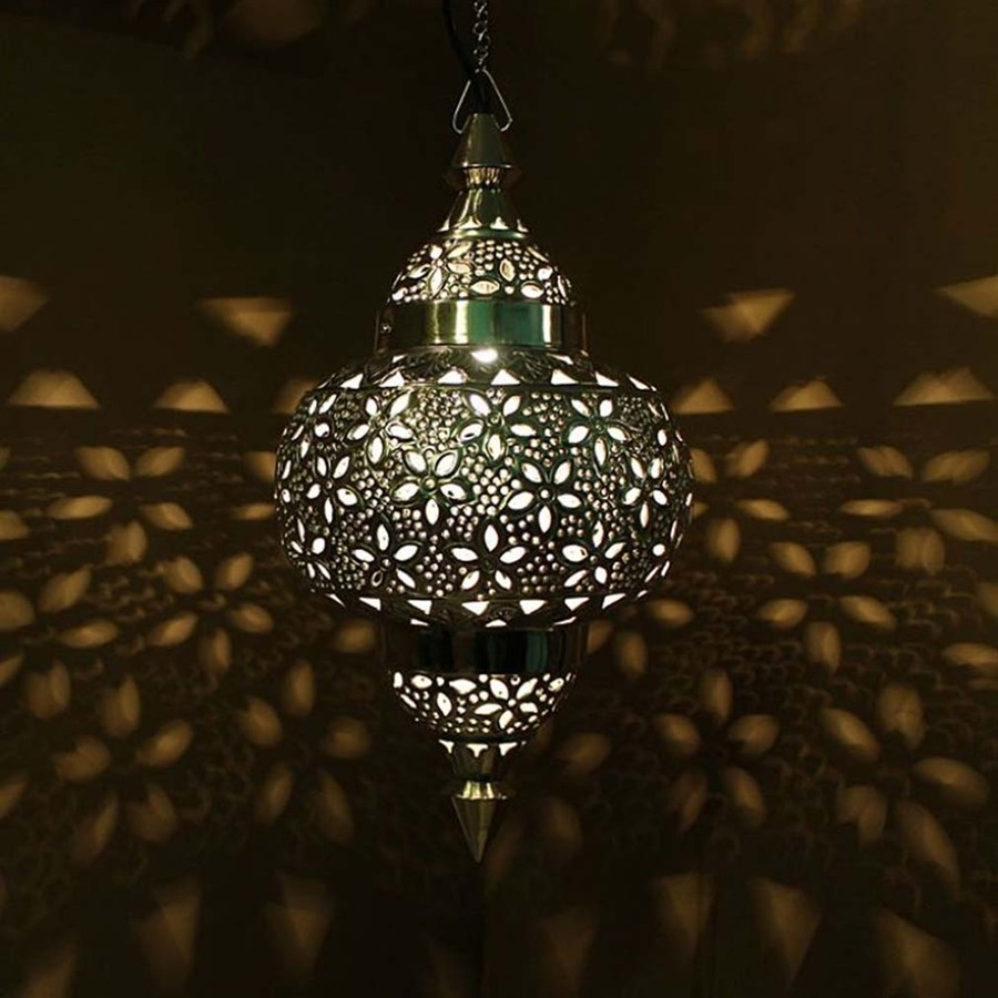 Image For Moroccan Lamps — Simonart Home Designs : Making Moroccan with Outdoor Indian Lanterns (Image 6 of 20)