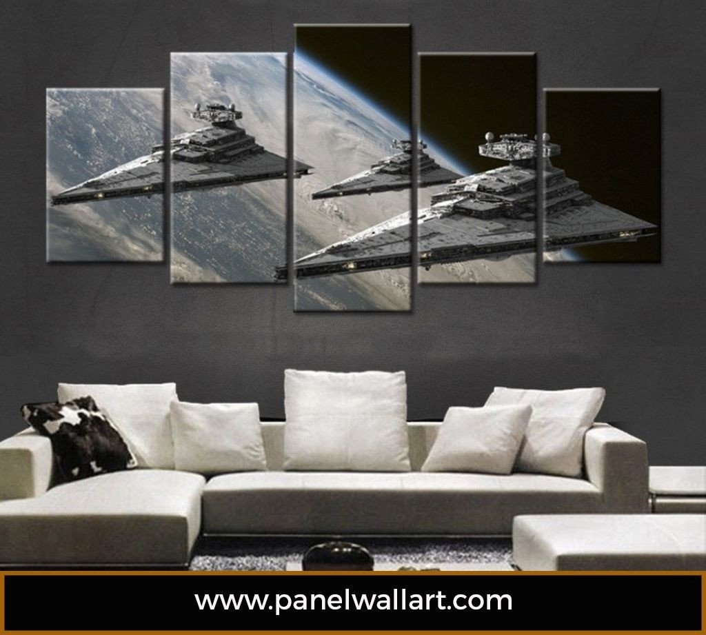 Popular Photo of Star Wars Wall Art