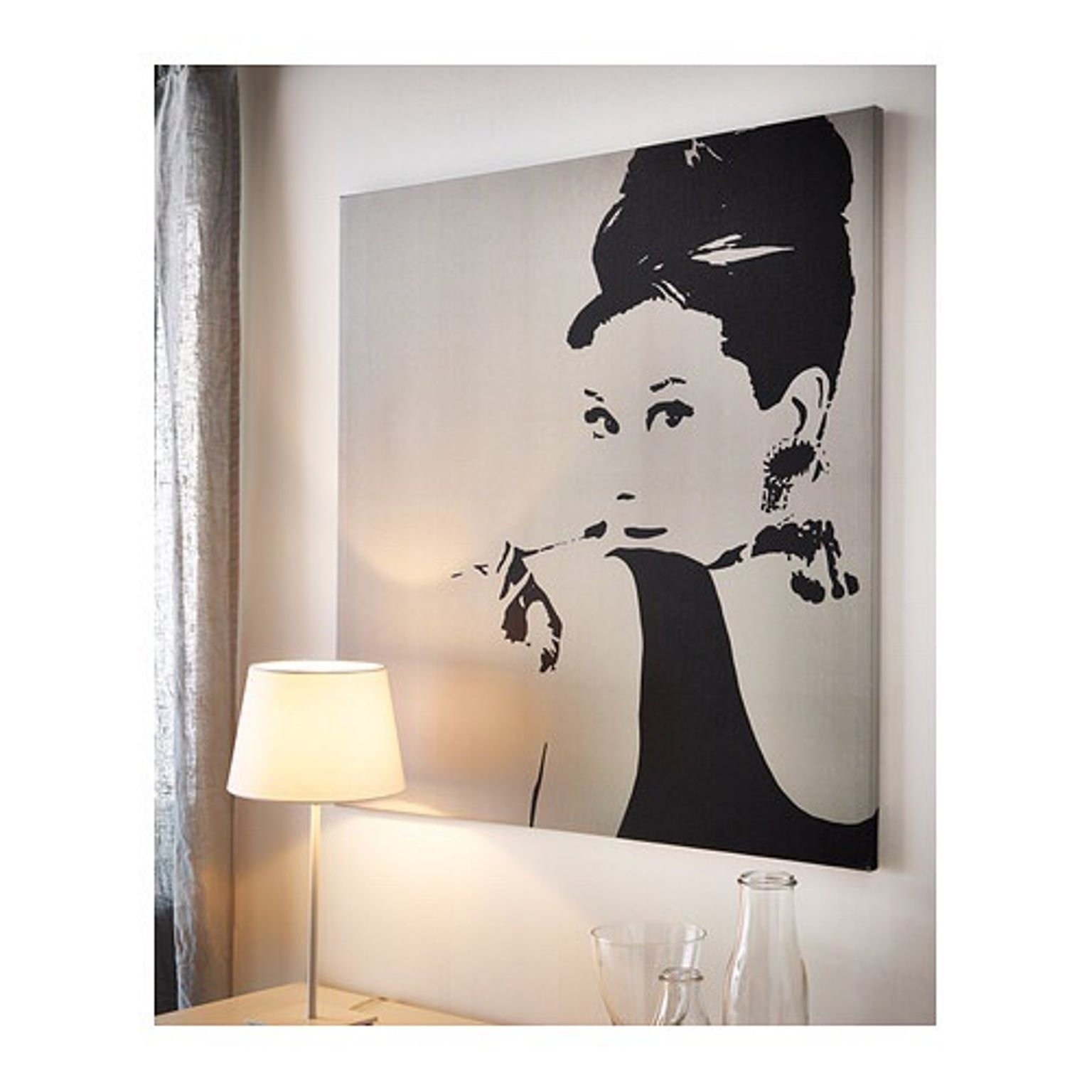 Incredible Pjaetteryd Picture Ikea For Wall Art Canvas Styles And Regarding Ikea Canvas Wall Art (View 11 of 20)