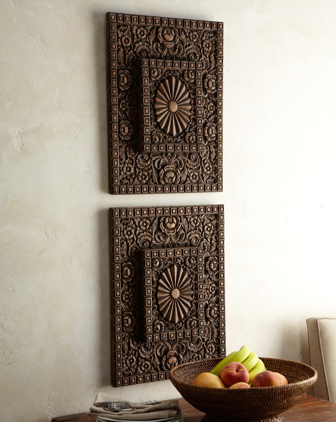 Indian Wooden Wall Art - Wooden Home Design pertaining to Carved Wood Wall Art (Image 13 of 20)