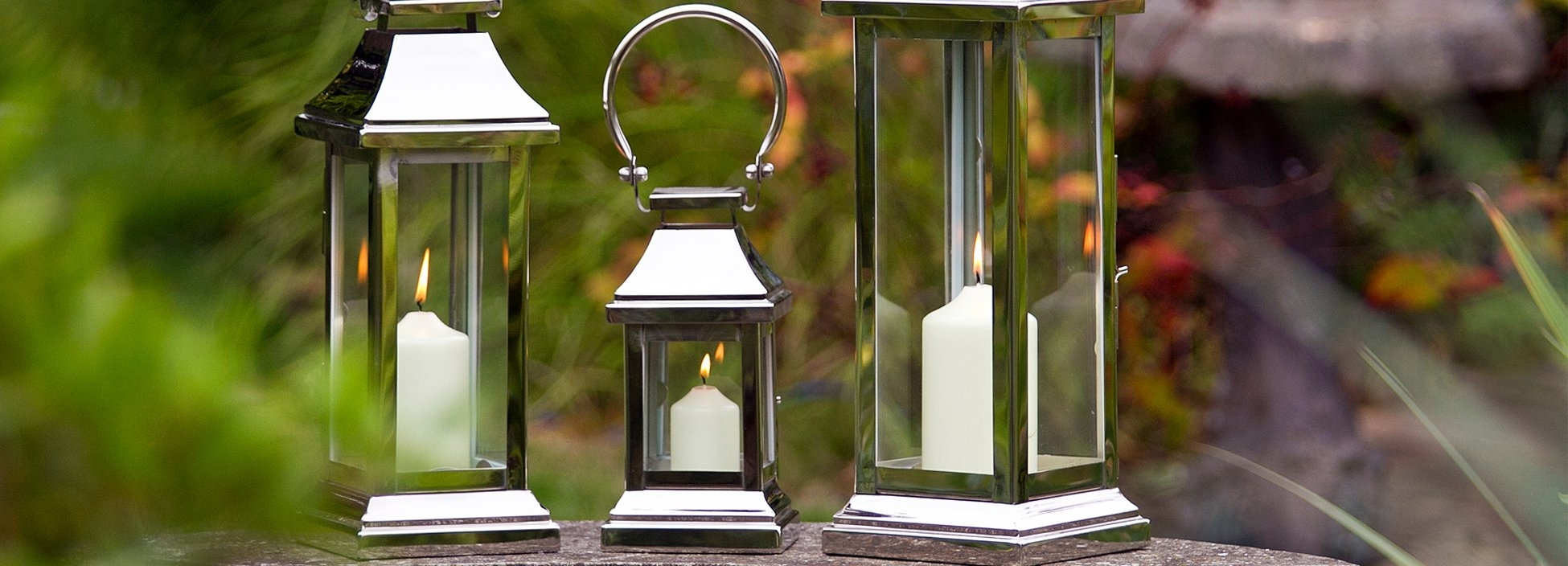 Indoor Candle Lanterns & Garden Lanterns | Culinary Concepts inside Outdoor Lanterns With Candles (Image 8 of 20)