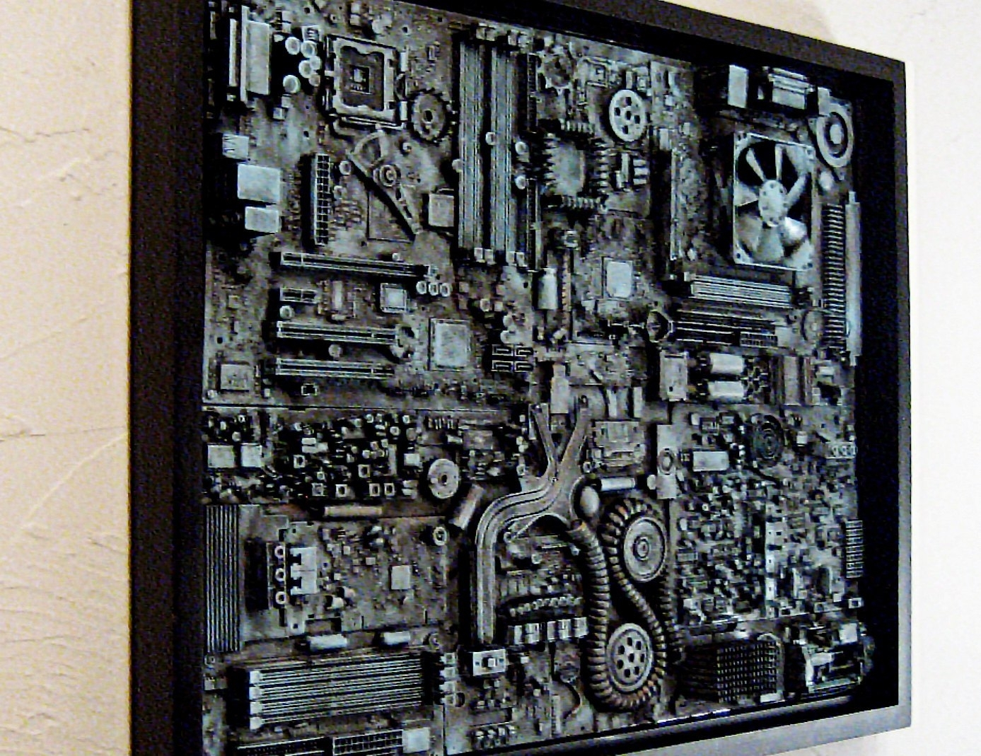 Industrial Wall Art Big Wall Art 18X24 Unique Computer, Unique Huge regarding Industrial Wall Art (Image 9 of 20)