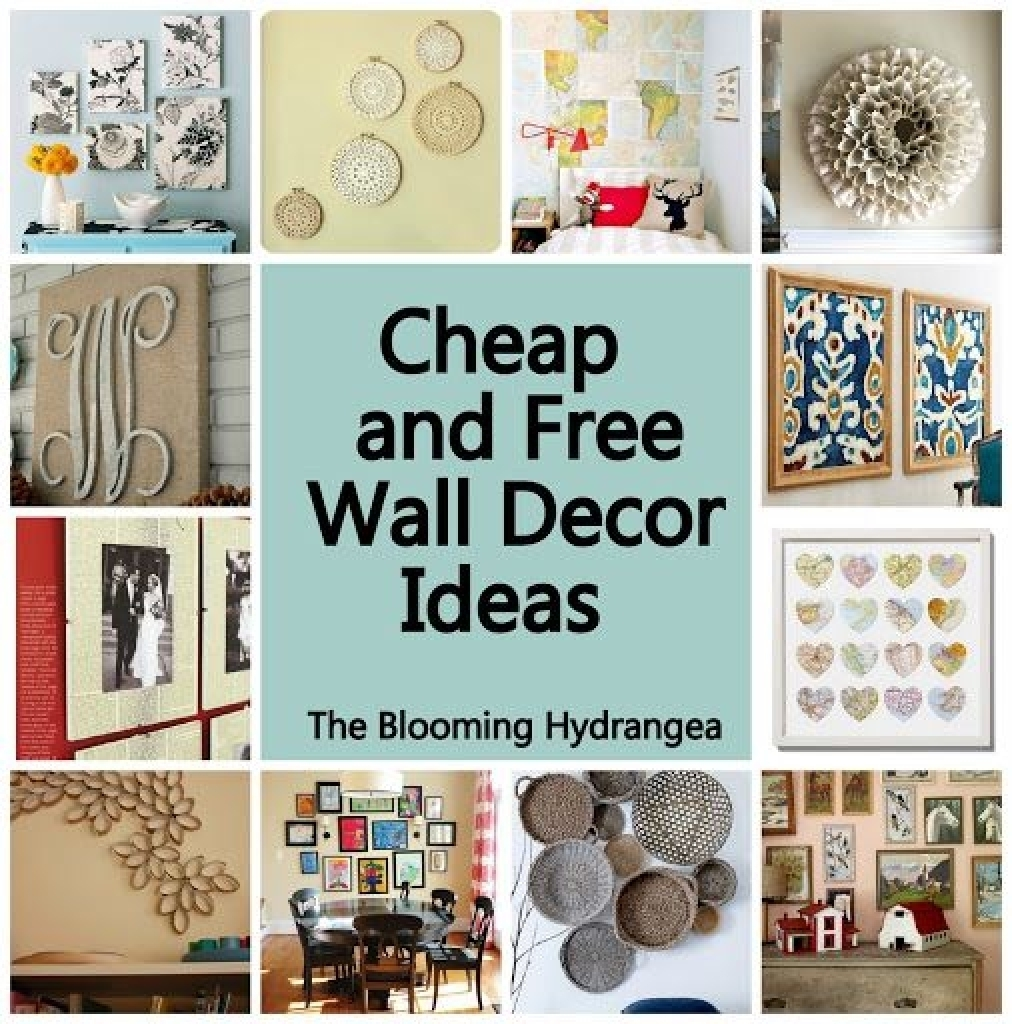 Inexpensive Wall Decorating Ideas Cheap Wall Decor Gossip News And In Cheap Wall Art (View 14 of 20)