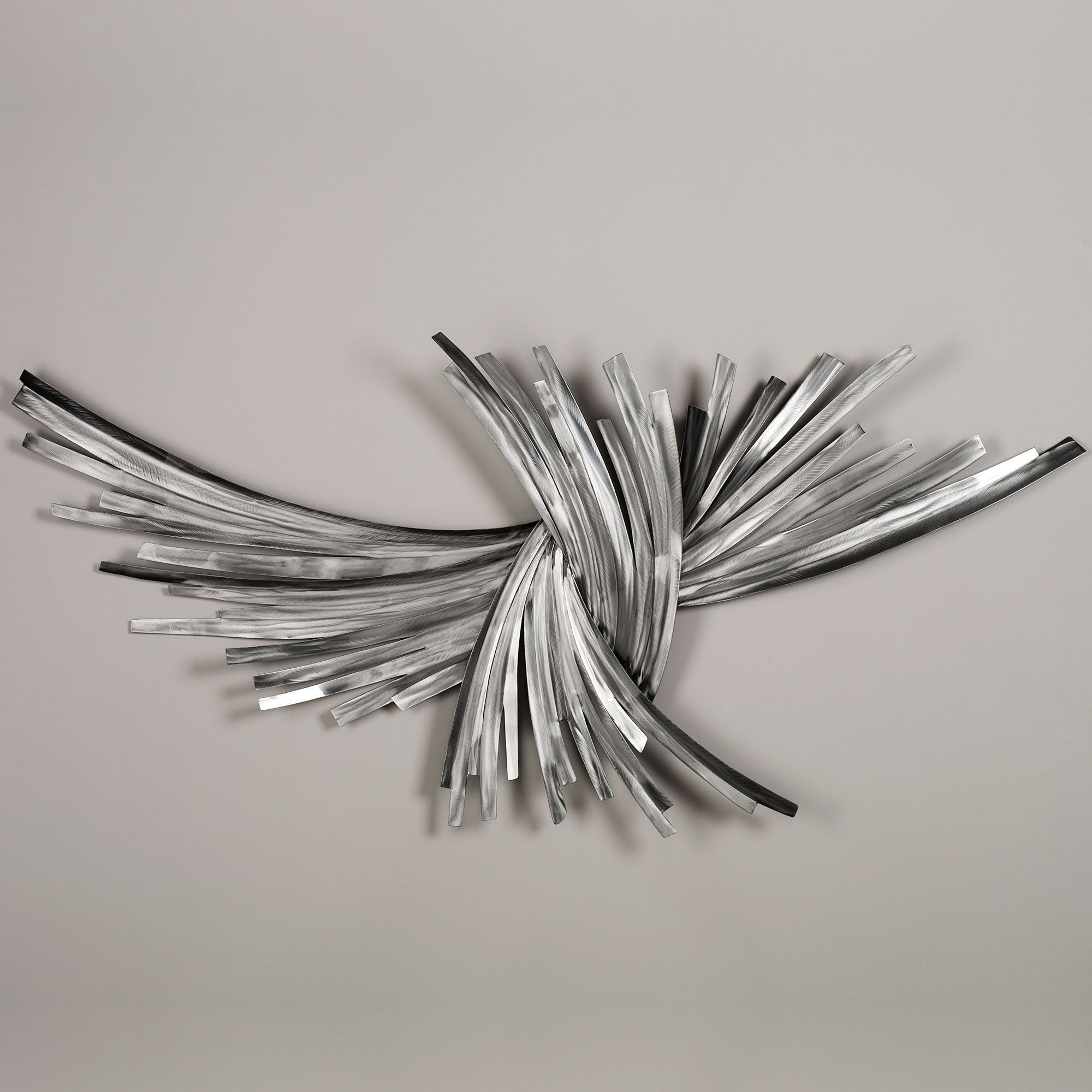Infinity Silver Metal Wall Sculpture | Art I Like | Pinterest Within Cheap Metal Wall Art (View 8 of 20)