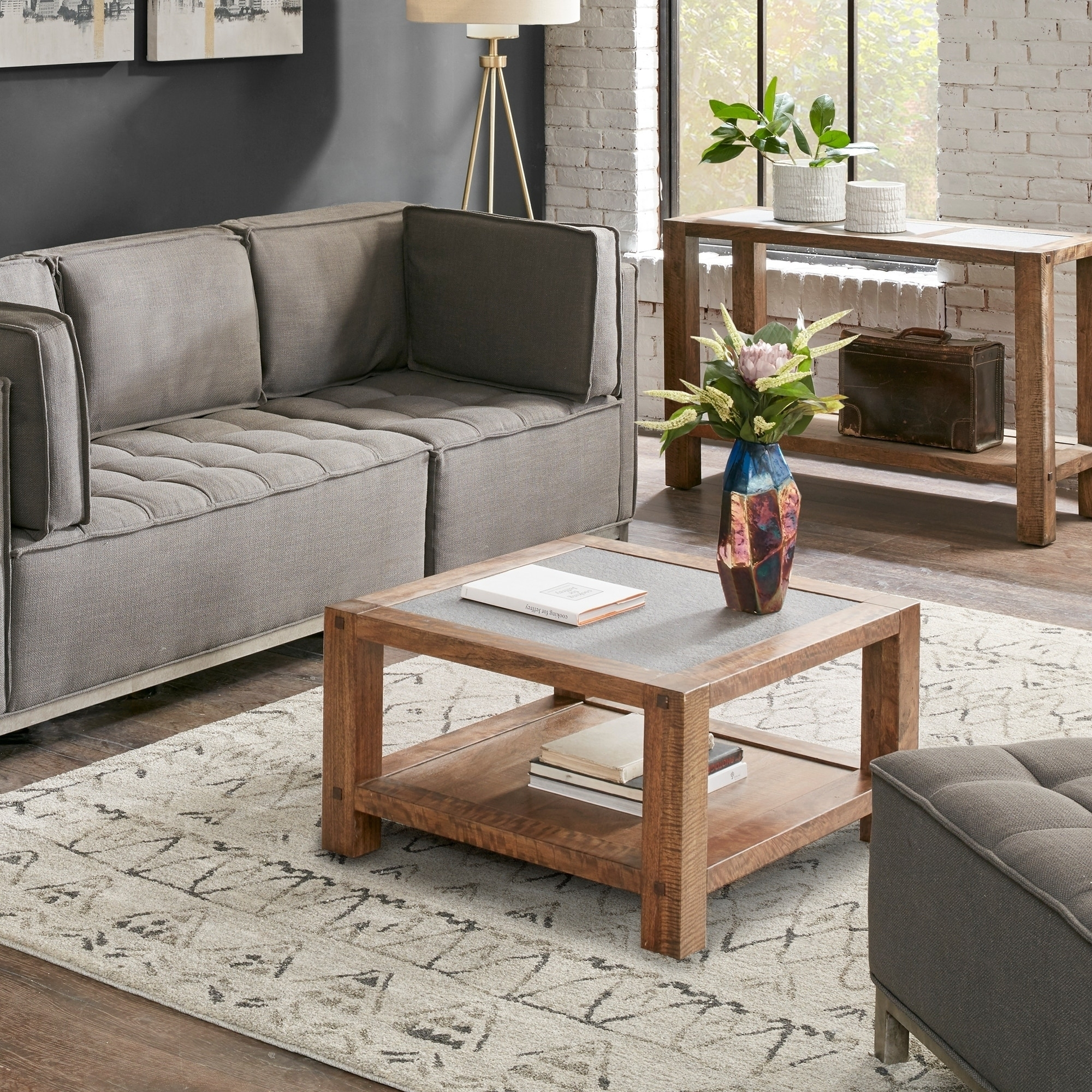 Ink And Ivy Pacifica Light Brown Coffee Table – Free Shipping Today Pertaining To Stately Acrylic Coffee Tables (View 15 of 30)