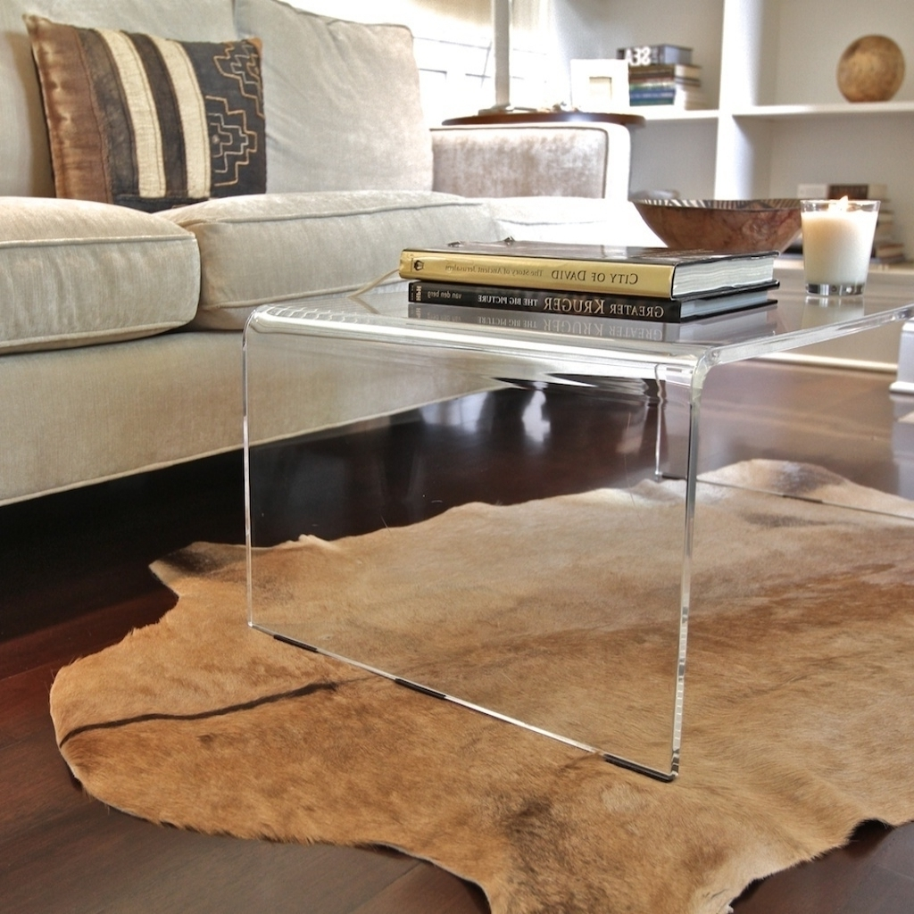 Innovative Acrylic Coffee Tables With Coffee Table Appealing Modern with regard to Modern Acrylic Coffee Tables (Image 15 of 30)