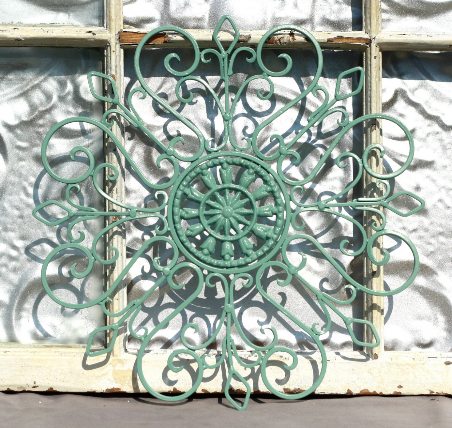 Inspiration: Large Wrought Iron Outdoor Wall Decor Outdoor Designs throughout Outdoor Wall Art (Image 5 of 20)