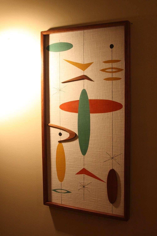 Inspirational Mid Century Modern Wall Art   Wall Art Ideas within Mid Century Modern Wall Art (Image 8 of 20)