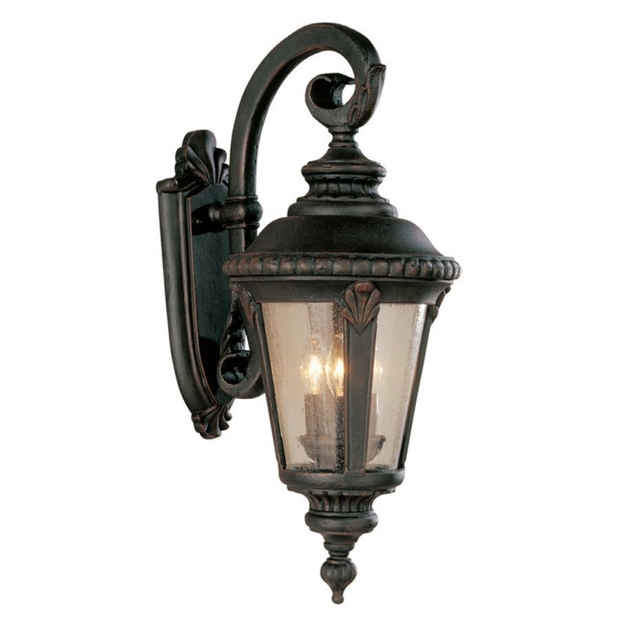 Inspiring Exterior Light Fixtures Wall Mount 2017 Design – Outdoor inside Outdoor Lanterns At Lowes (Image 1 of 20)