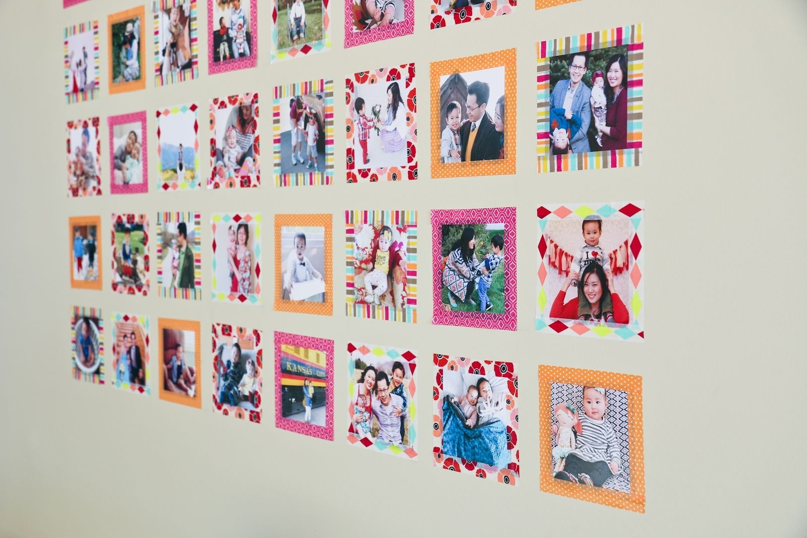 Instagram Wall Art With Washi Tape | Instagram Wall And Walls within Instagram Wall Art (Image 13 of 20)
