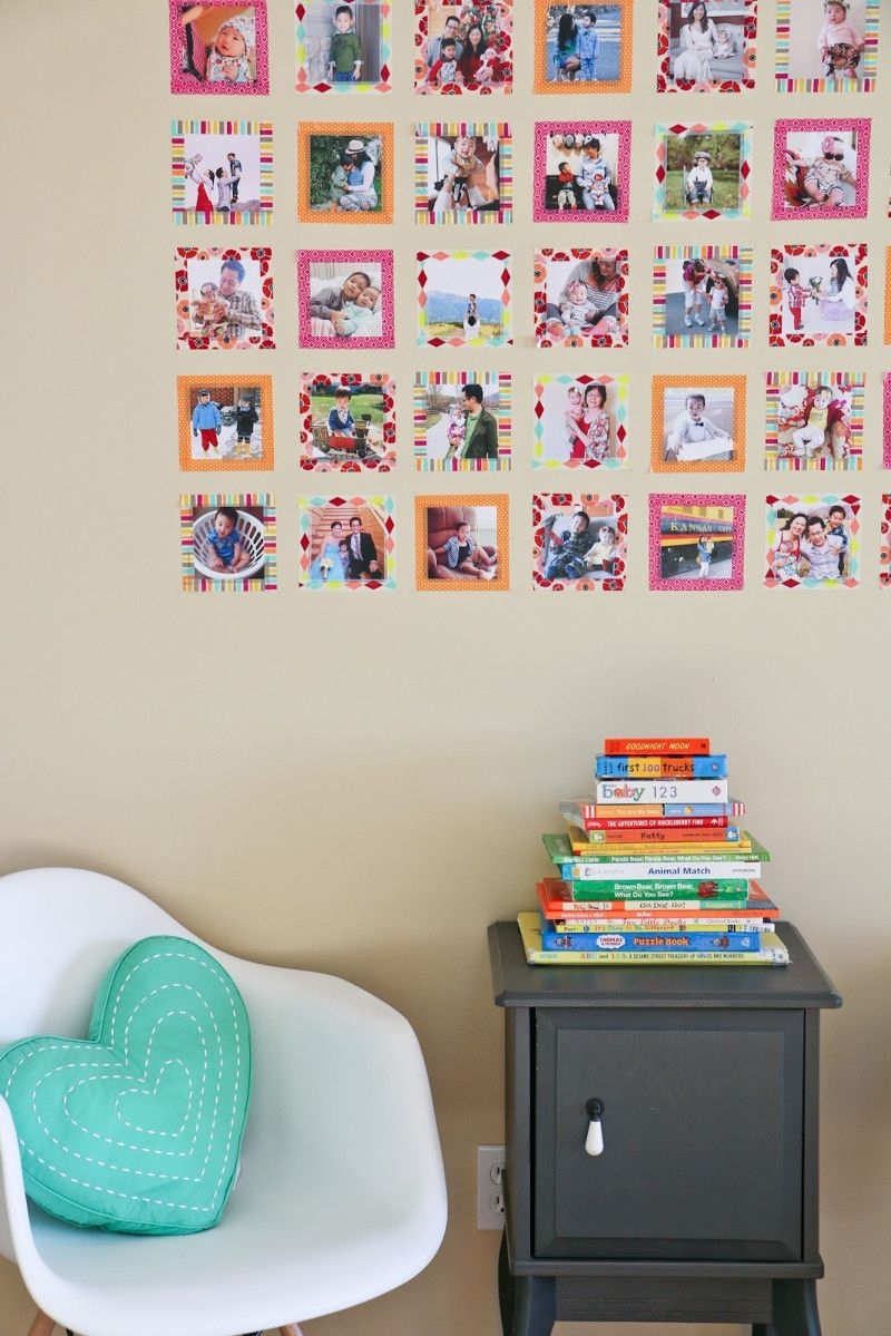 Instagram Wall Art With Washi Tape | Pinterest | Instagram Wall with regard to Instagram Wall Art (Image 14 of 20)